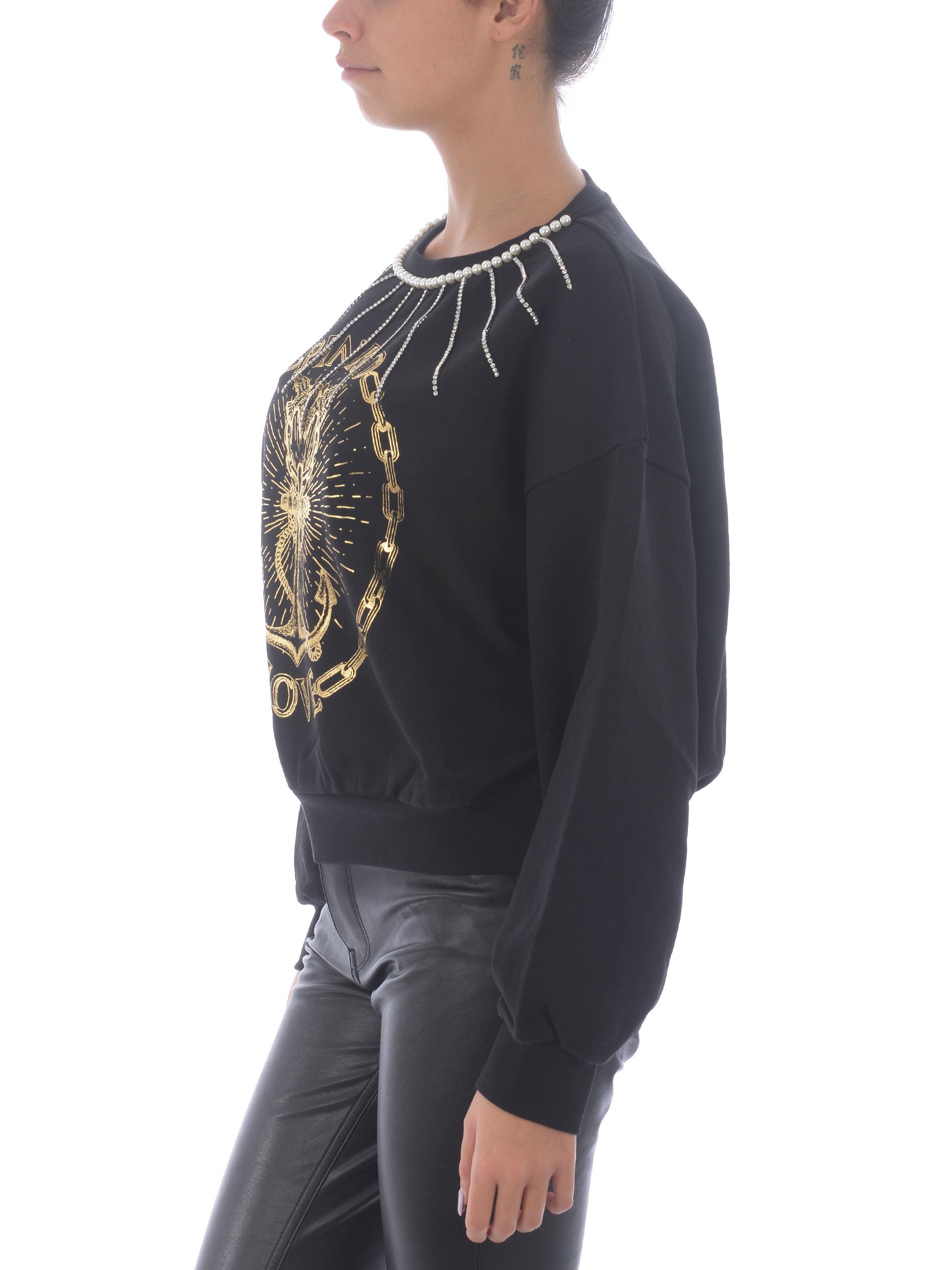 Pinko Massimiliano cotton sweatshirt PINKO | 10000005 | 1G15BR-Y1C8Z99