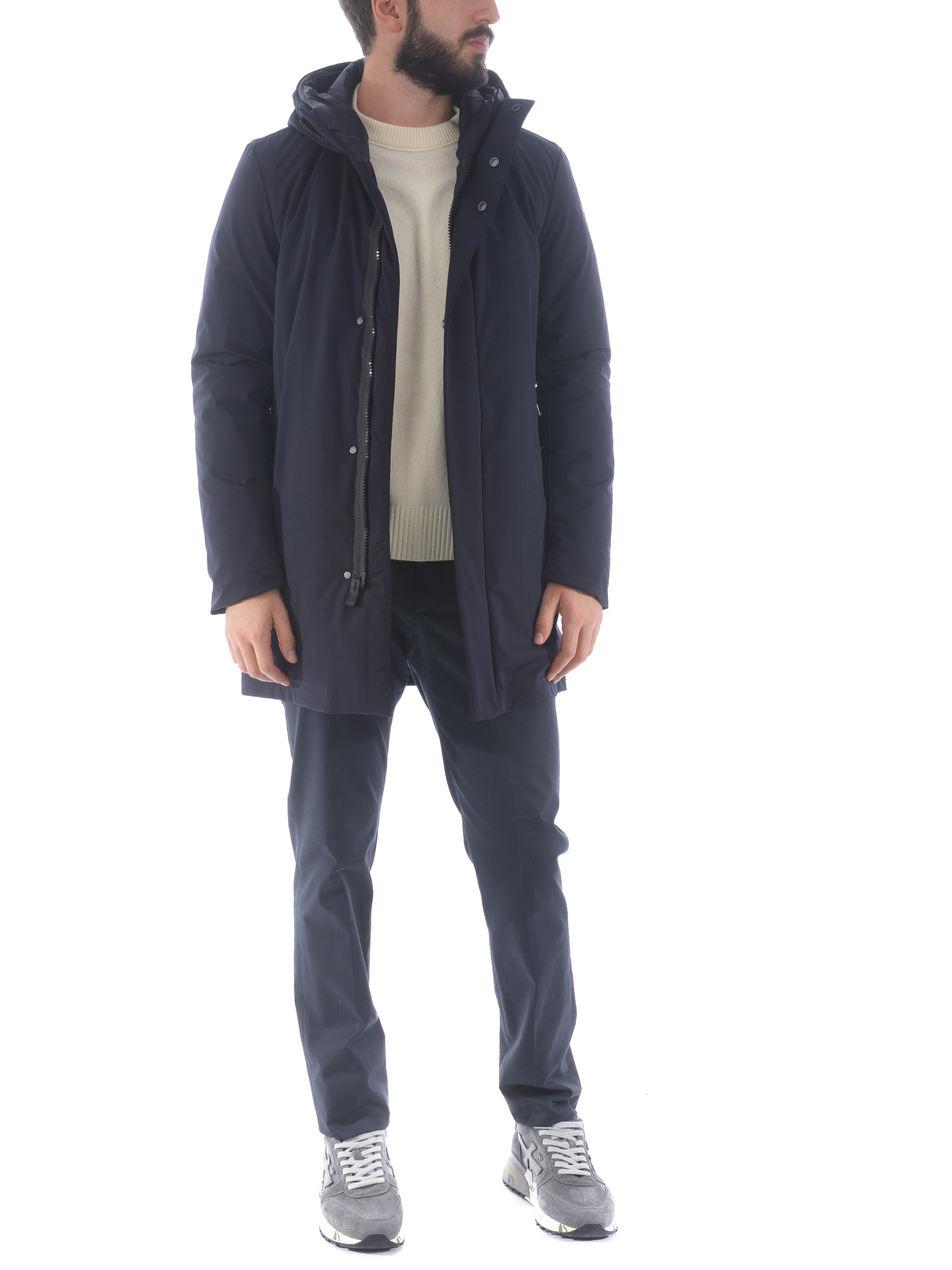 RRD City rain parka in stretch nylon RRD | 10000002 | W2003160