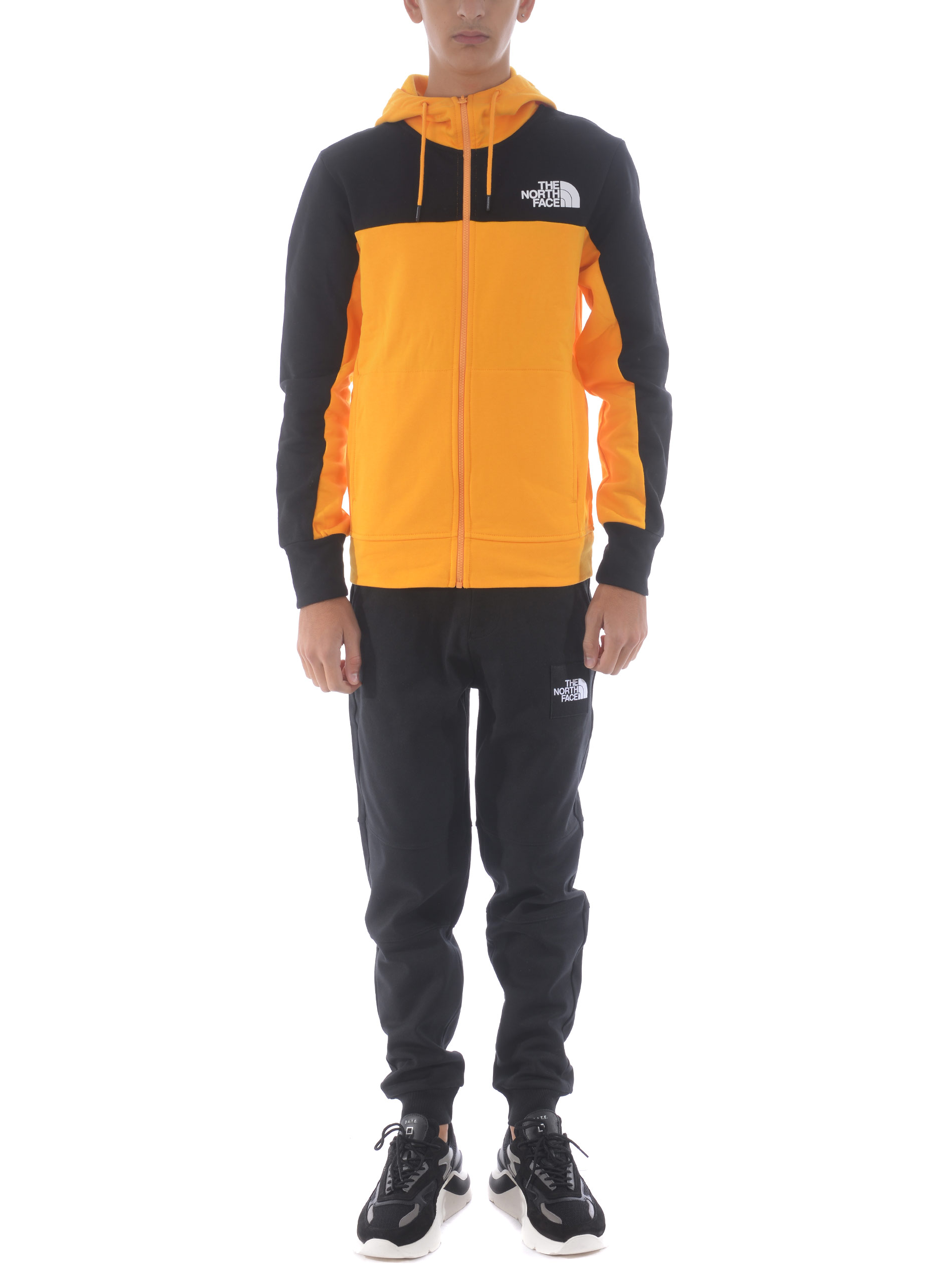The North Face Himalayan Full Zip Hoodie in cotton. THE NORTH FACE | 10000005 | NF0A4SWMZU31