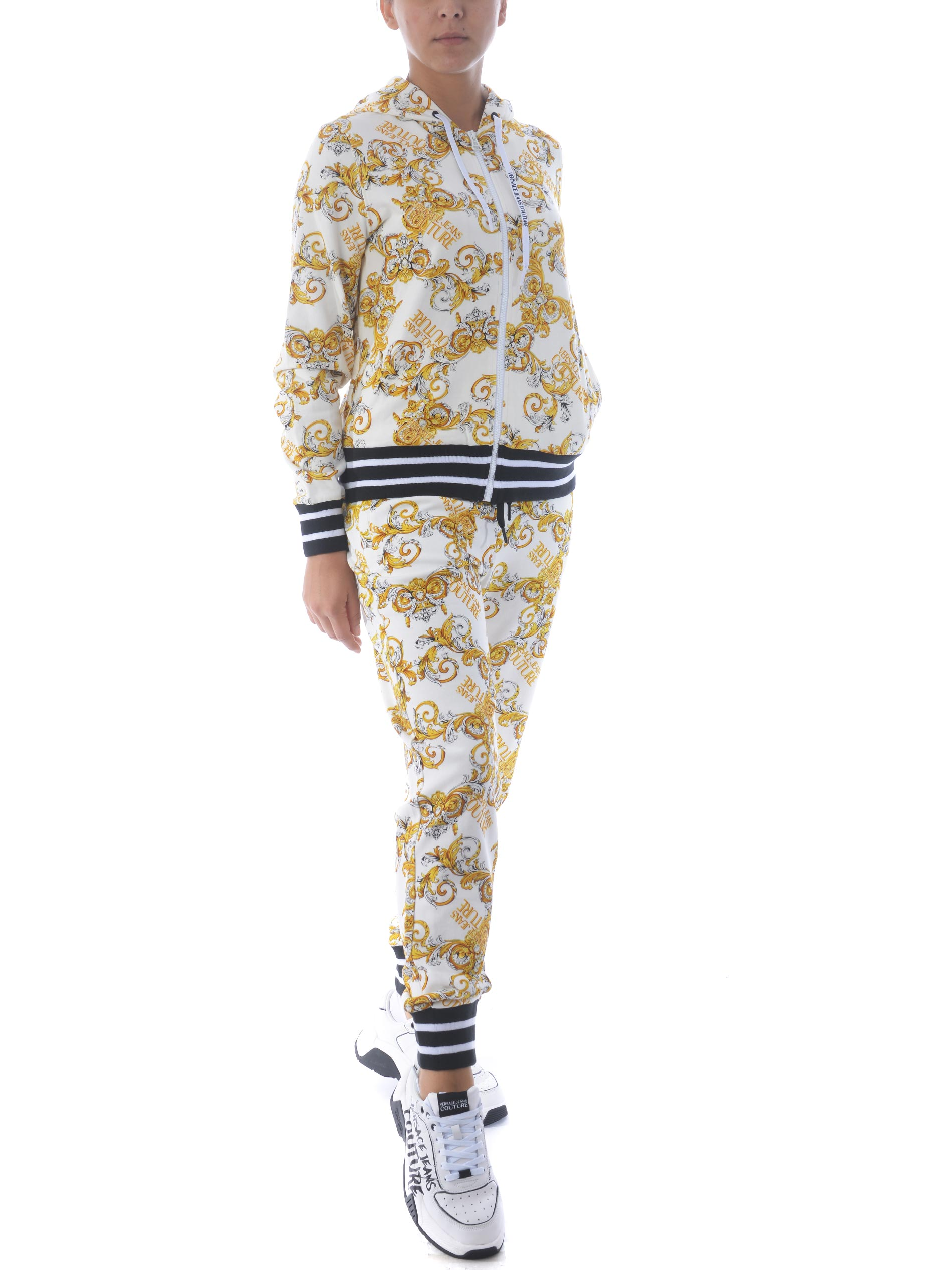 Felpa Versace Jeans Couture in cotone VERSACE JEANS | 10000005 | B6HZA795S0830-003