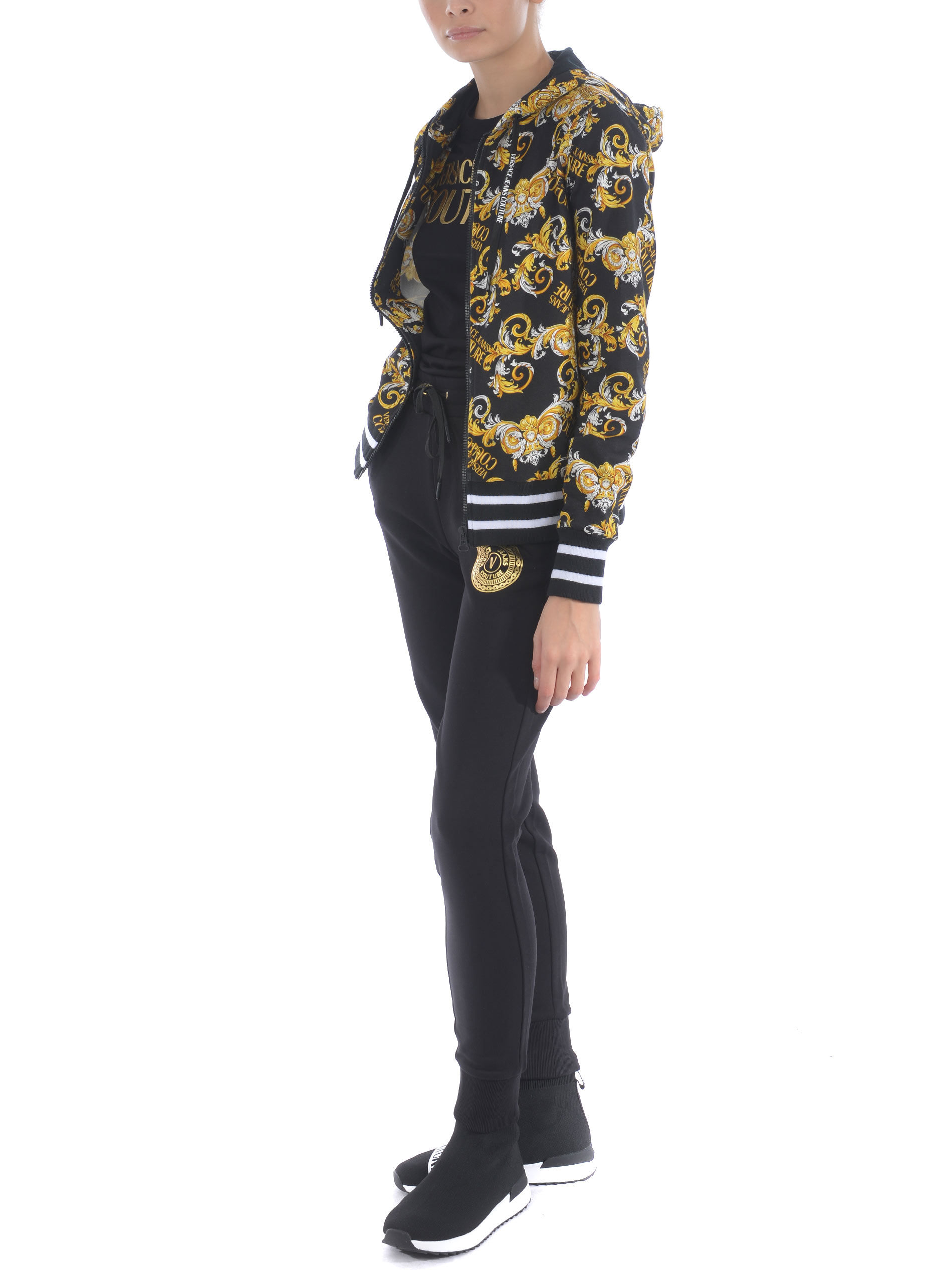 Felpa Versace Jeans Couture in cotone VERSACE JEANS | 10000005 | B6HZA795S0830-899