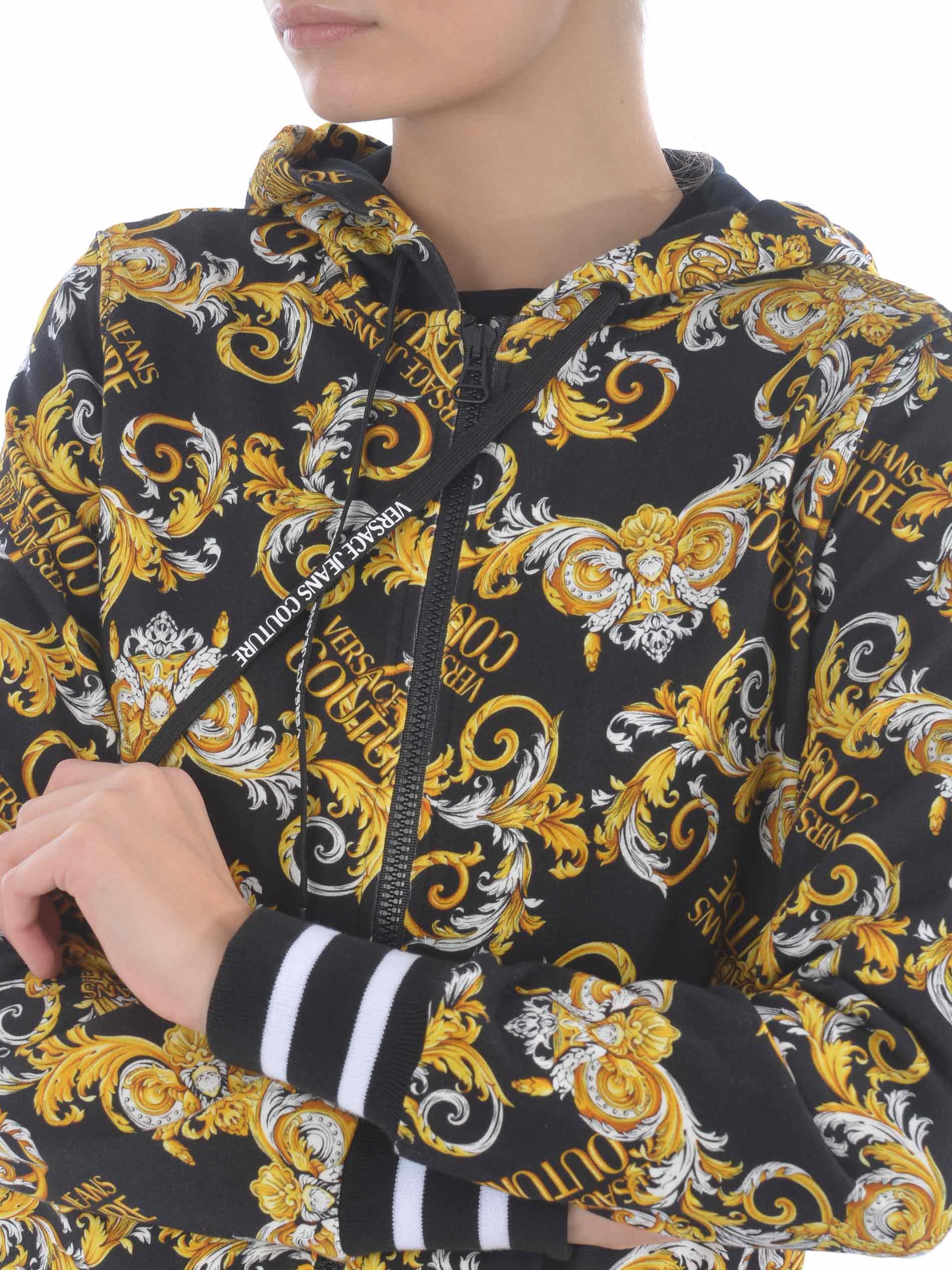 Versace Jeans Couture cotton sweatshirt VERSACE JEANS | 10000005 | B6HZA795S0830-899
