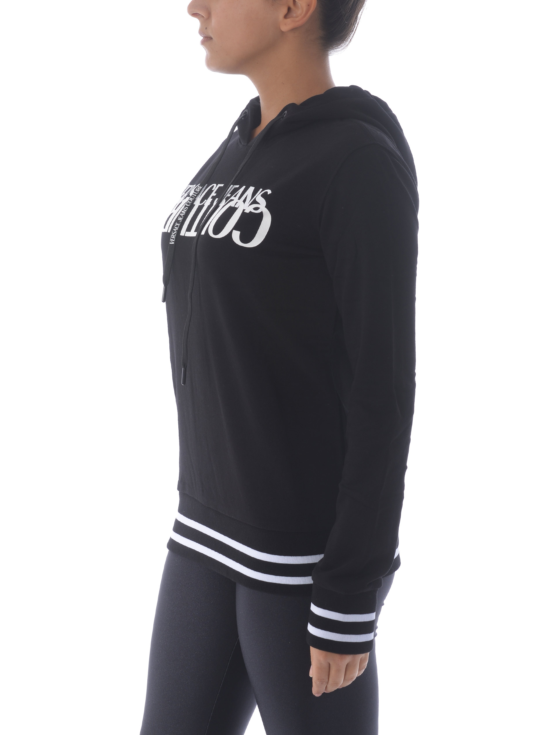 Felpa Versace Jeans Couture in cotone VERSACE JEANS | 10000005 | B6HZA7KL30328-899