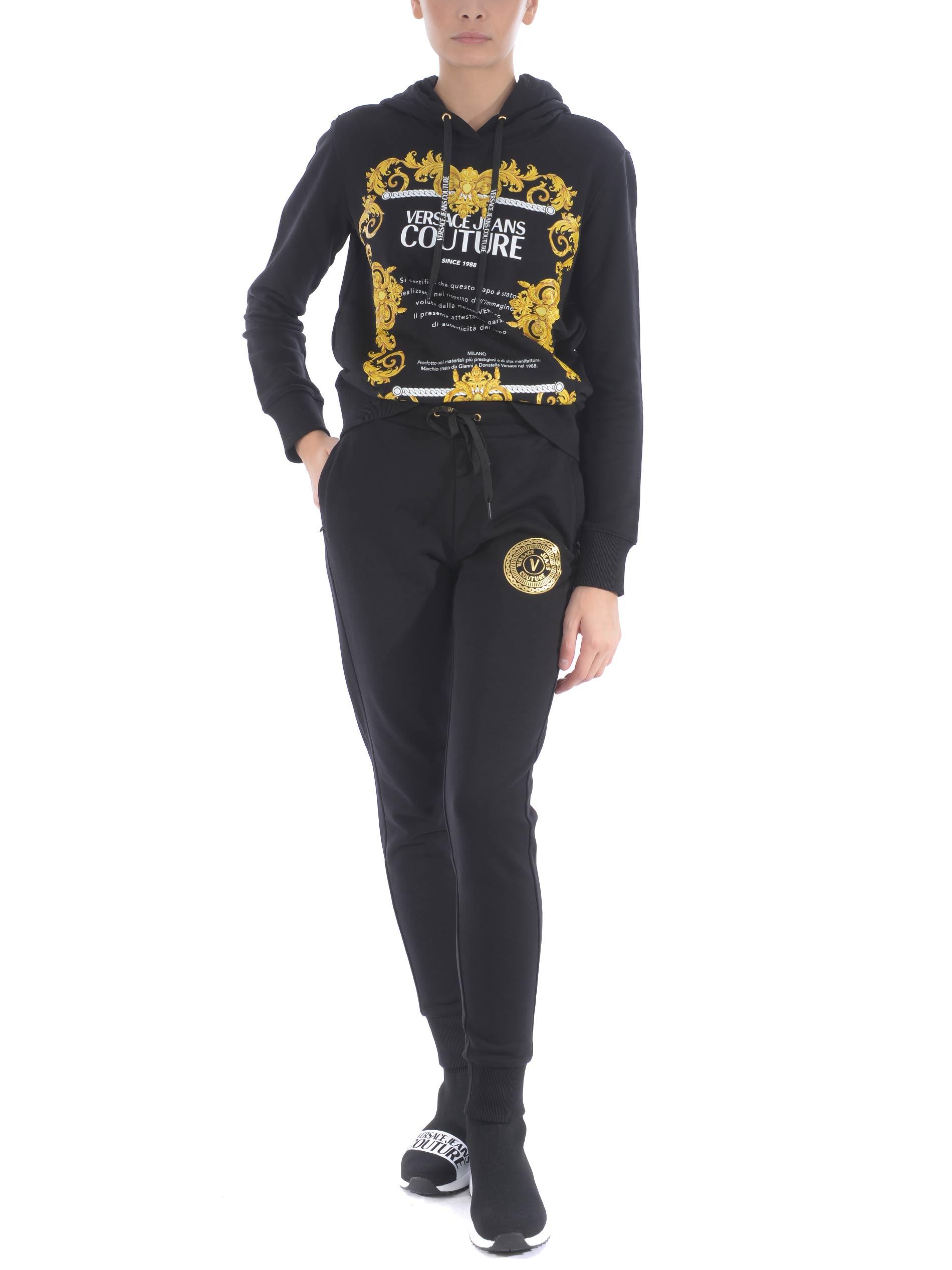 Versace Jeans Couture cotton sweatshirt VERSACE JEANS | 10000005 | B6HZA7TS30318-899