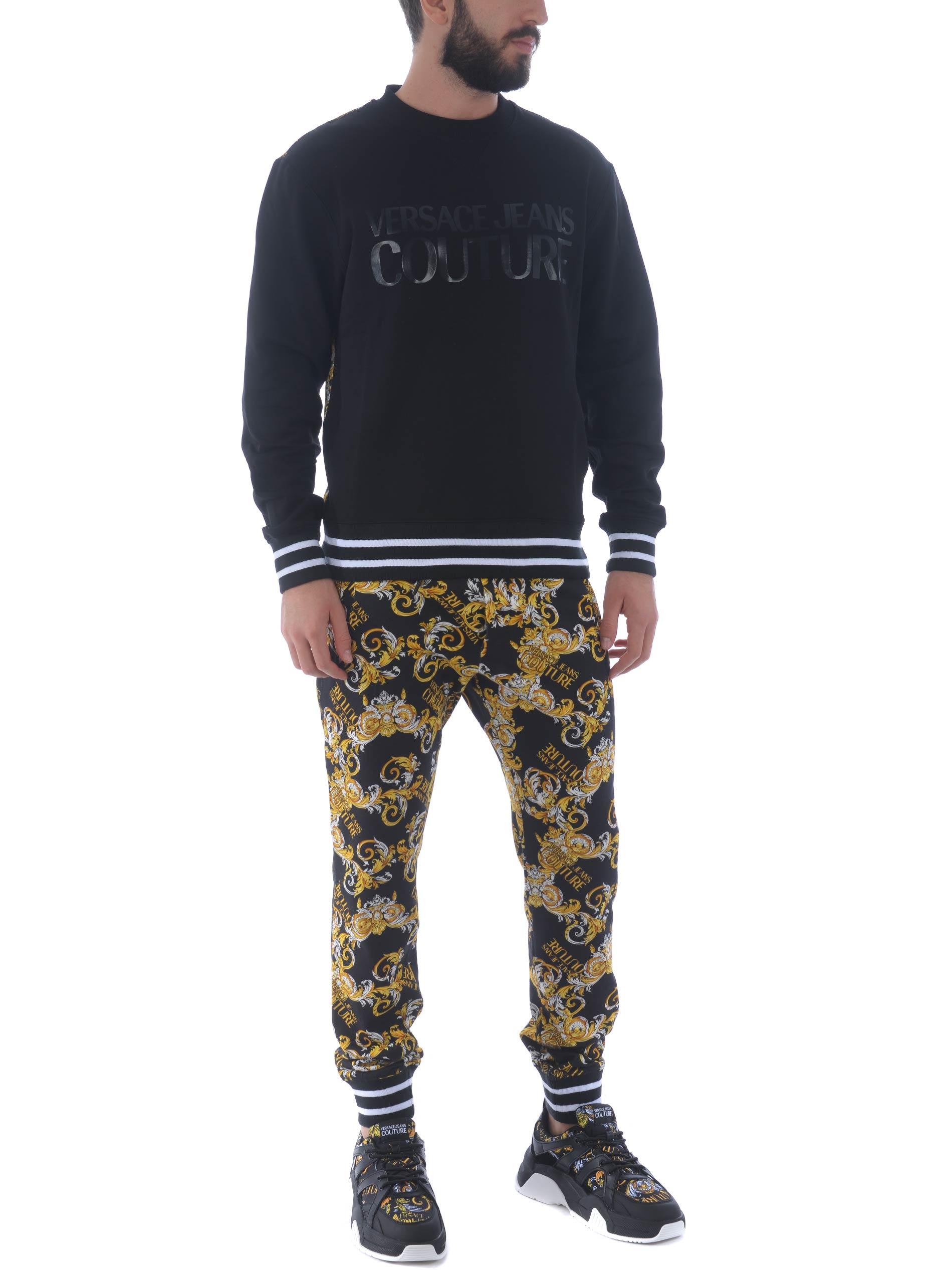 Versace Jeans Couture cotton sweatshirt VERSACE JEANS   10000005   B7GZA70213988-899