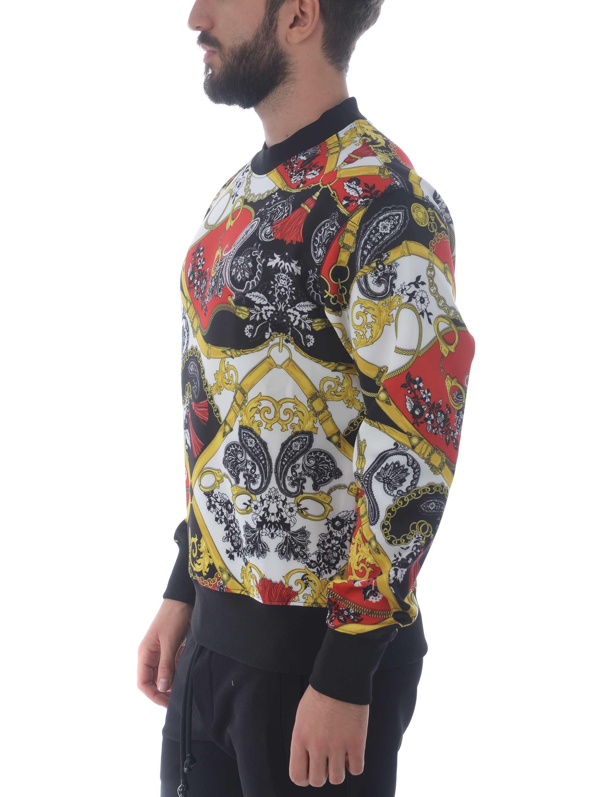 Versace Jeans Couture sweatshirt in neoprene VERSACE JEANS | 10000005 | B7GZA718S0846-500