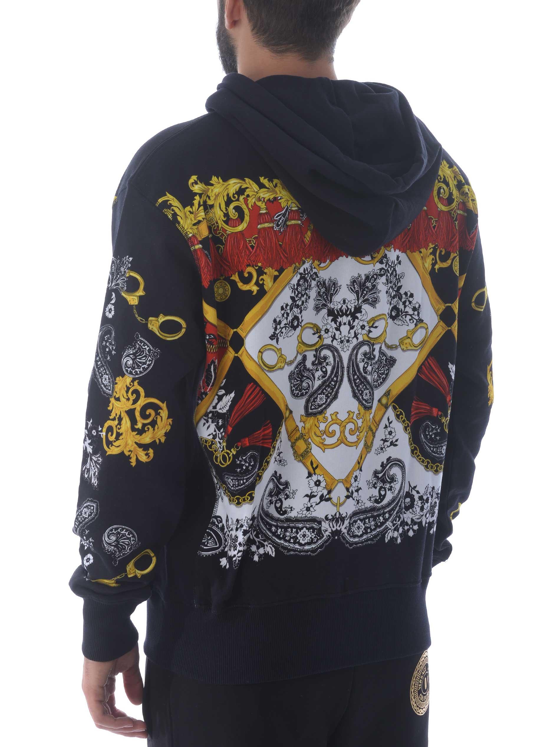 Versace Jeans Couture cotton sweatshirt VERSACE JEANS | 10000005 | B7GZA7KI30328-899