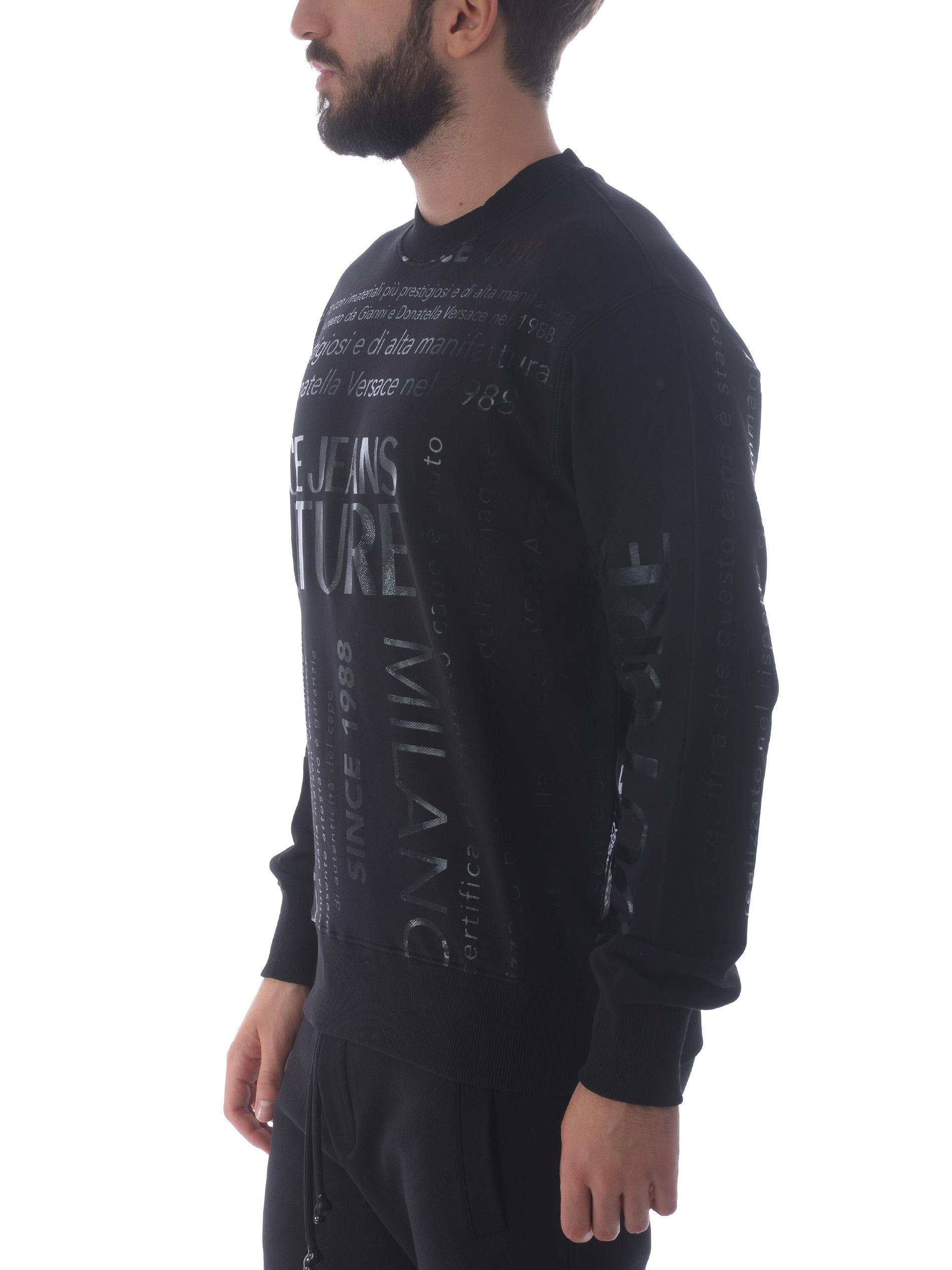 Versace Jeans Couture cotton sweatshirt VERSACE JEANS | 10000005 | B7GZA7TZ30318-899