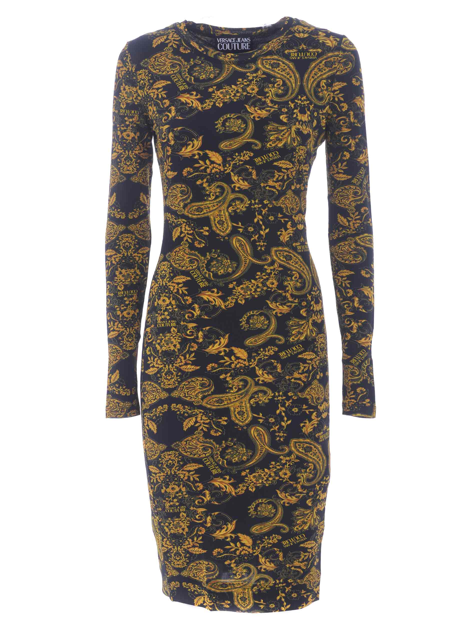 Versace Jeans Couture dress in stretch viscose