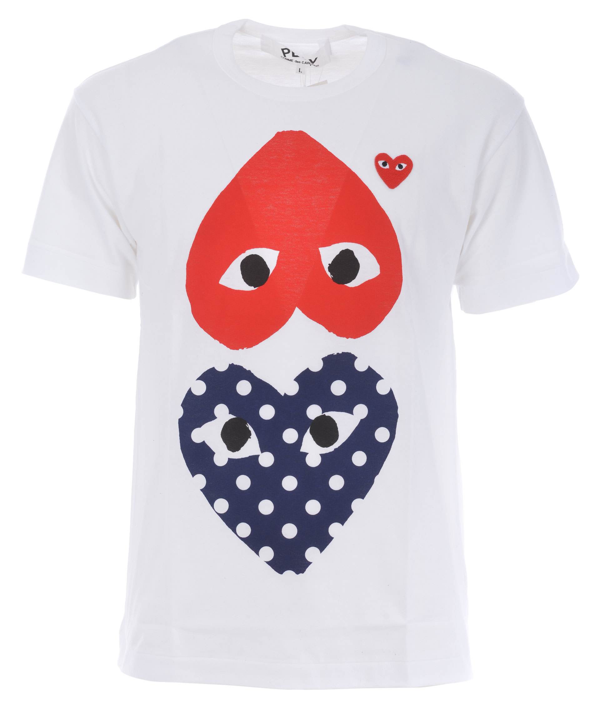 T Shirt Comme Des Garcons Play Play Polka Dot Comme Des Garcons