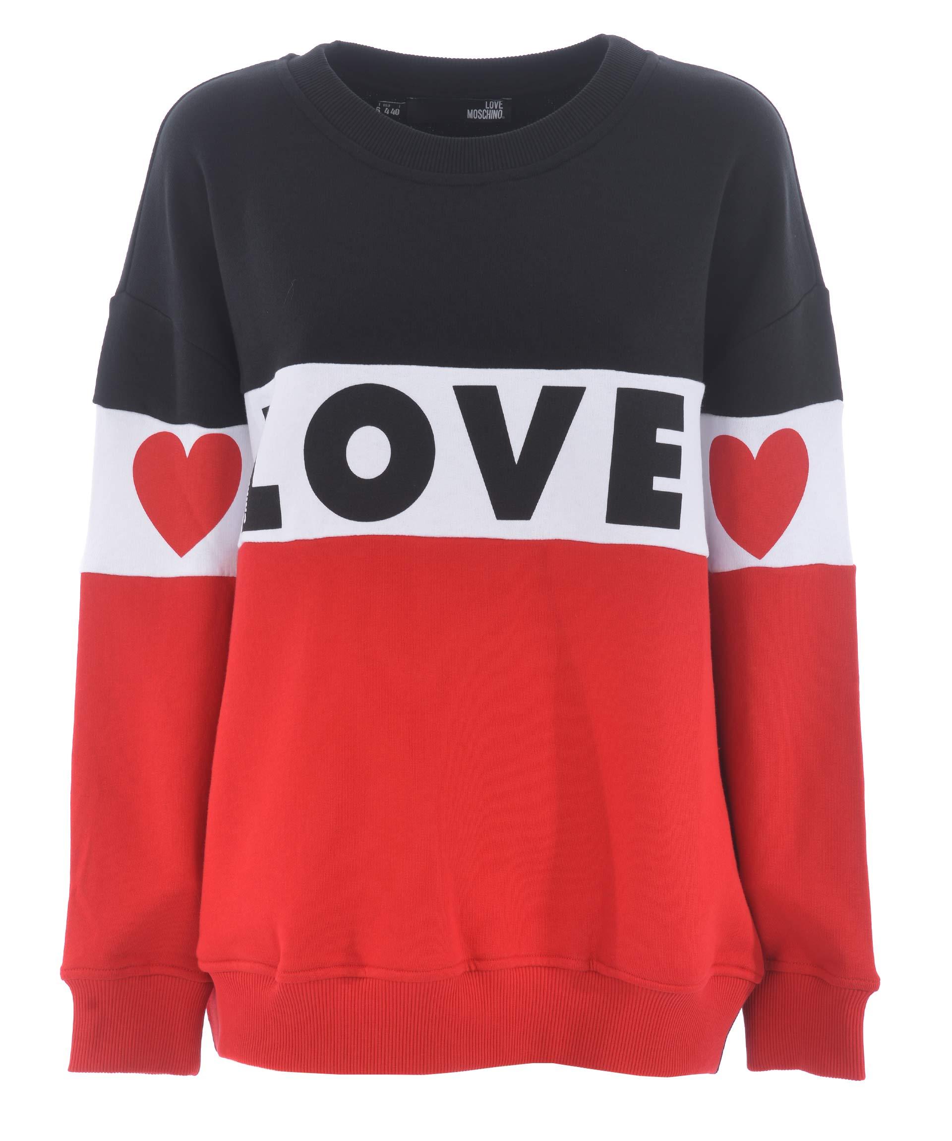 Felpa Love Moschino