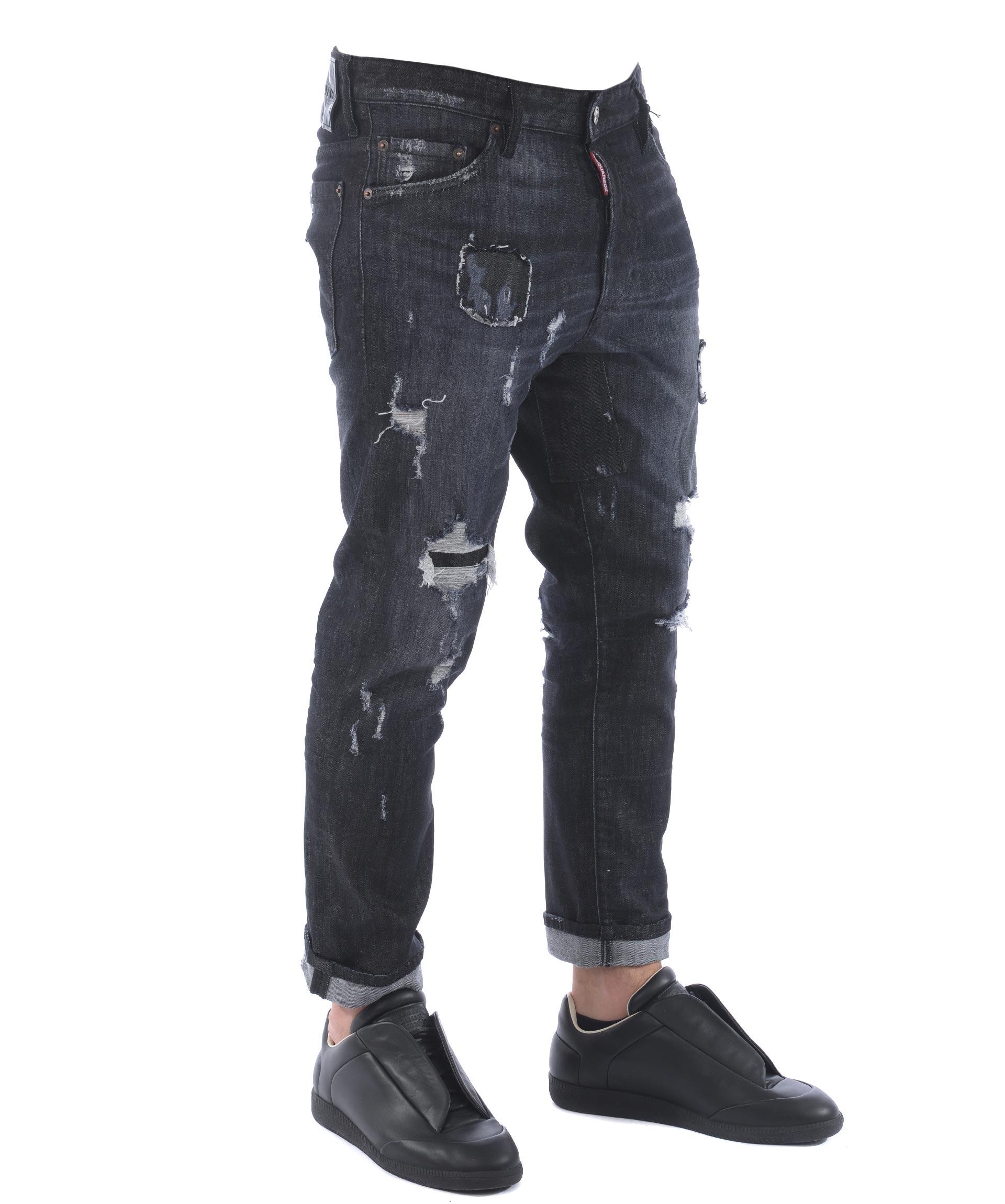 low priced f6e40 5d1e4 Jeans Uomo dsquared in offerta 40%