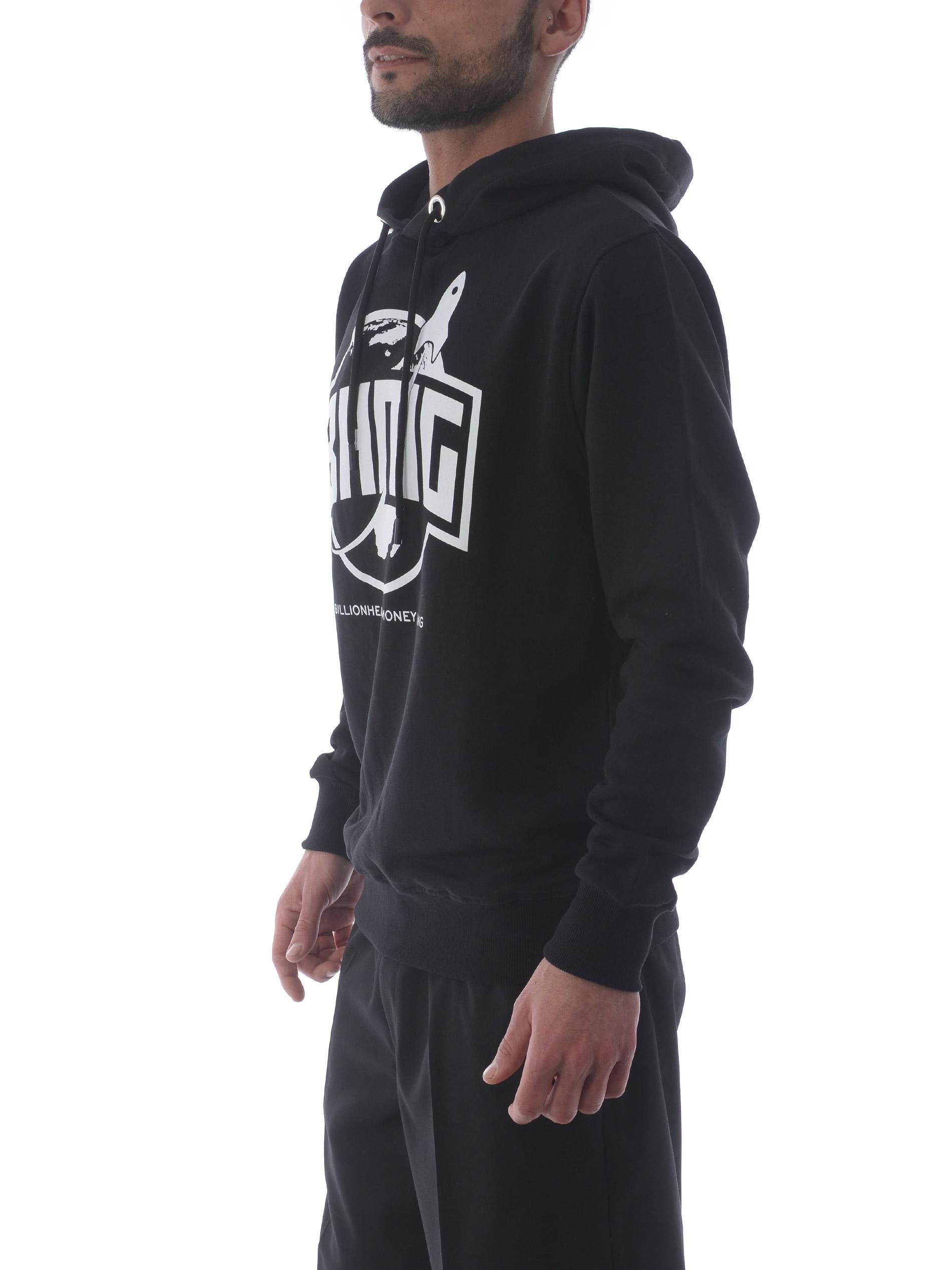 BHMG cotton sweatshirt BHMG | 10000005 | 028322NERO