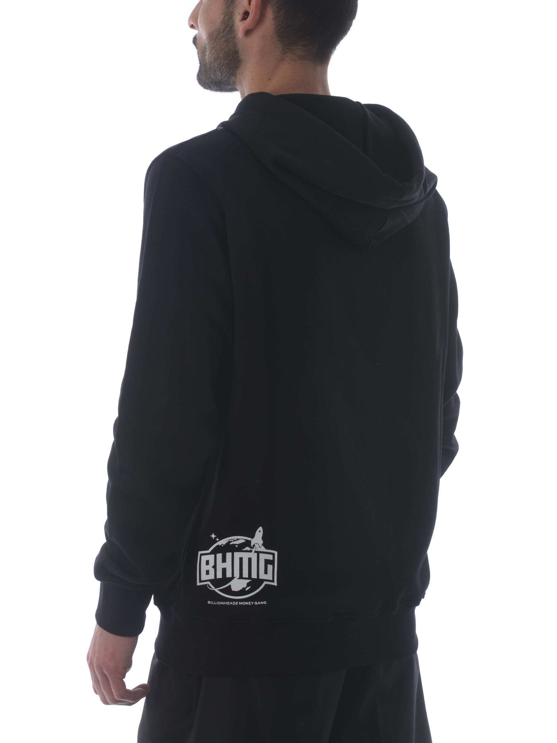 BHMG cotton sweatshirt BHMG | 10000005 | 029113NERO