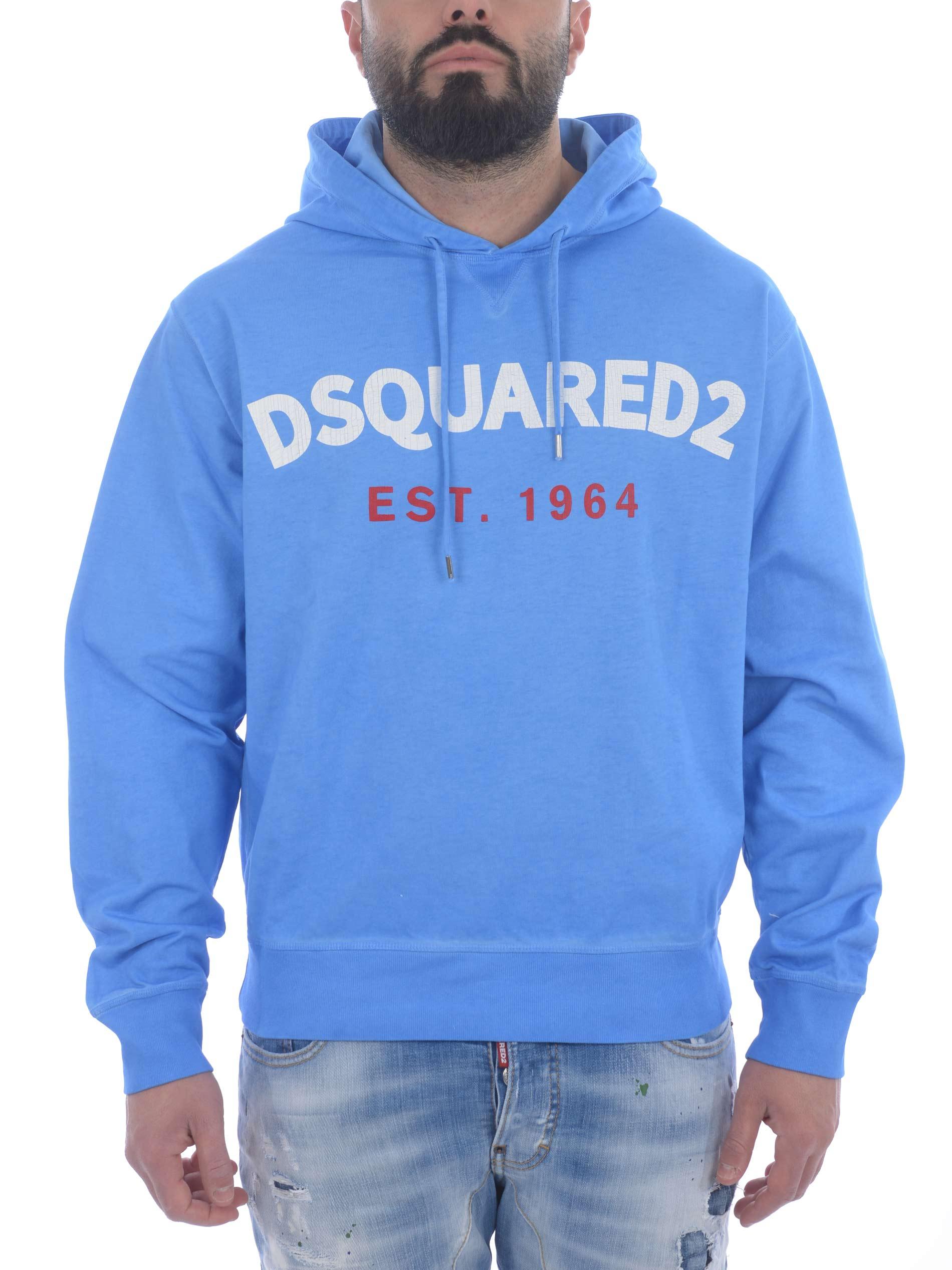 Felpa Dsquared2 in cotone DSQUARED | 10000005 | S71GU0442S23851-483