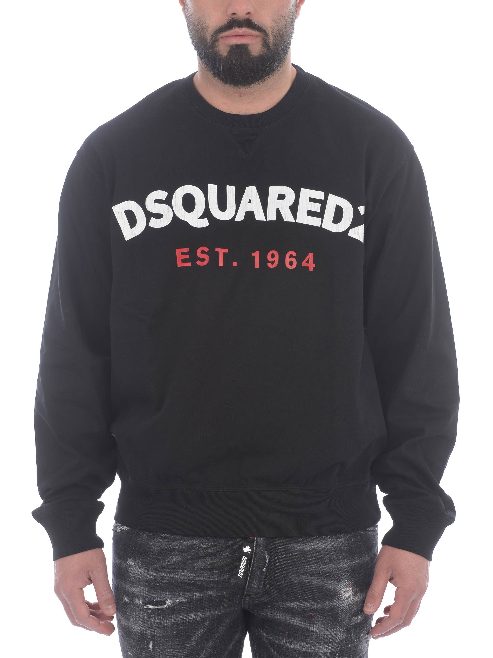 Dsquared2 cotton sweatshirt DSQUARED | 10000005 | S71GU0443S23851-900