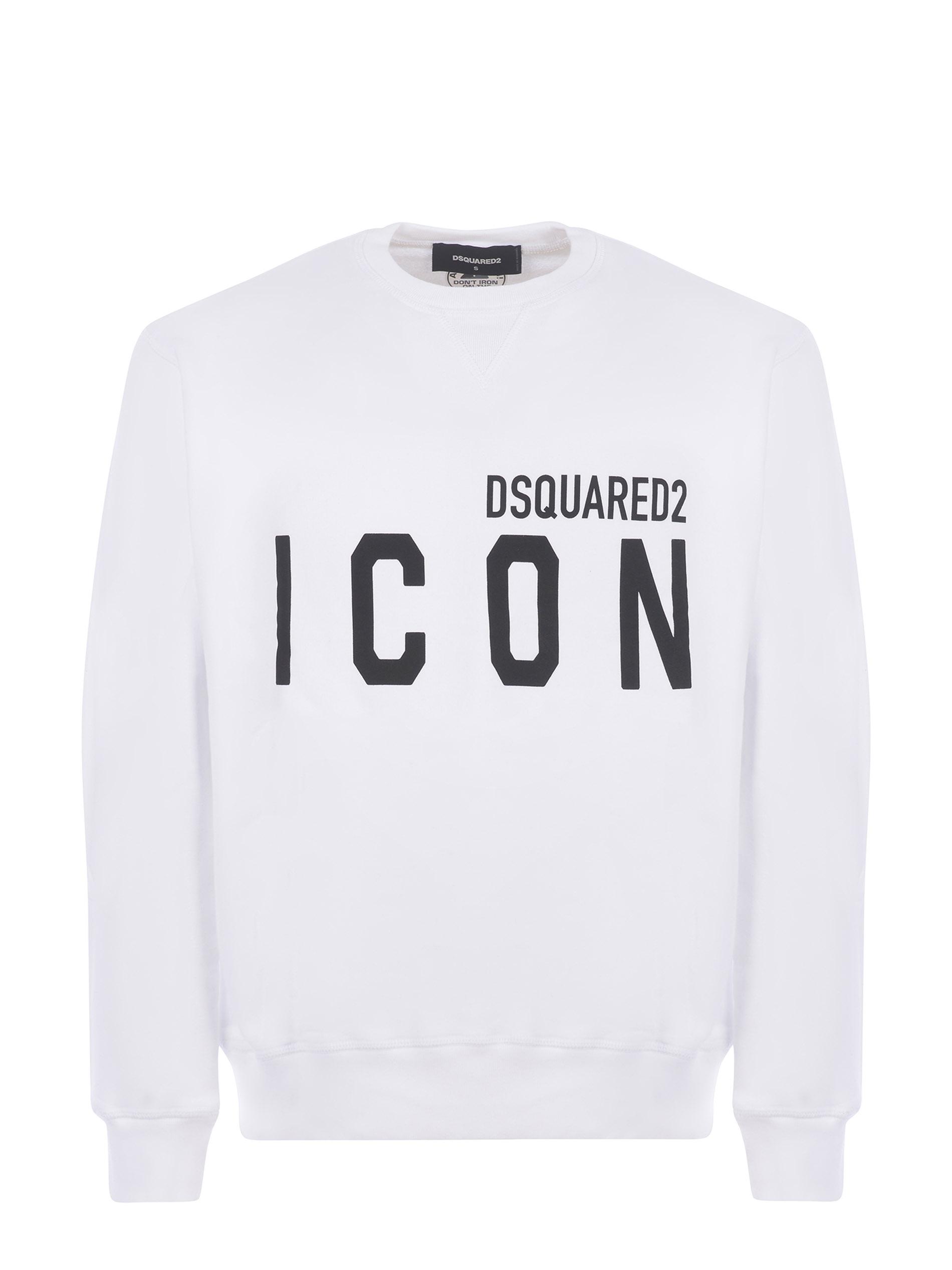 Dsquared2 cotton sweatshirt DSQUARED | 10000005 | S79GU0004S25042-100