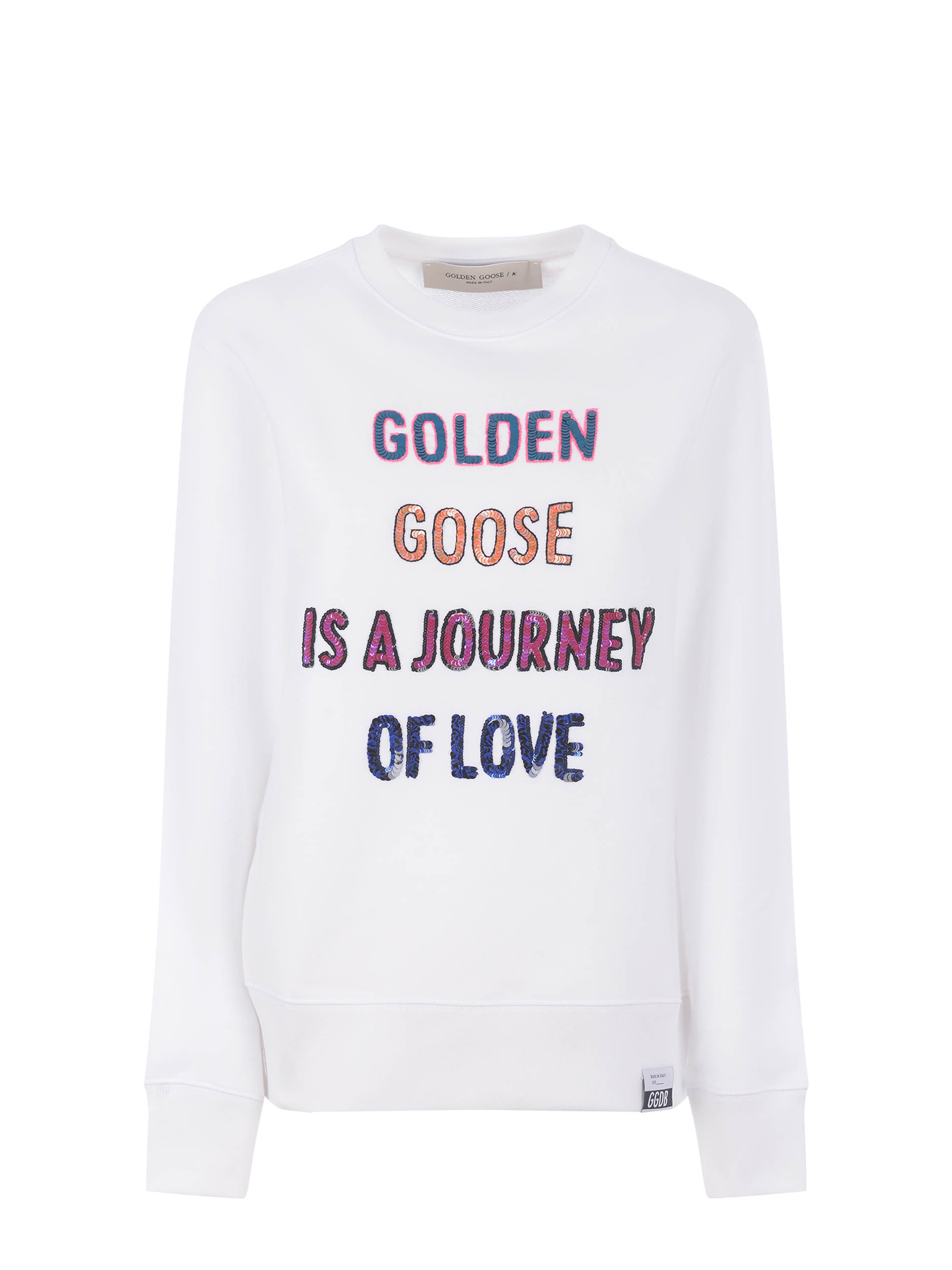 Golden Goose Athena cotton sweatshirt GOLDEN GOOSE   10000005   GWP00761P000440-10330