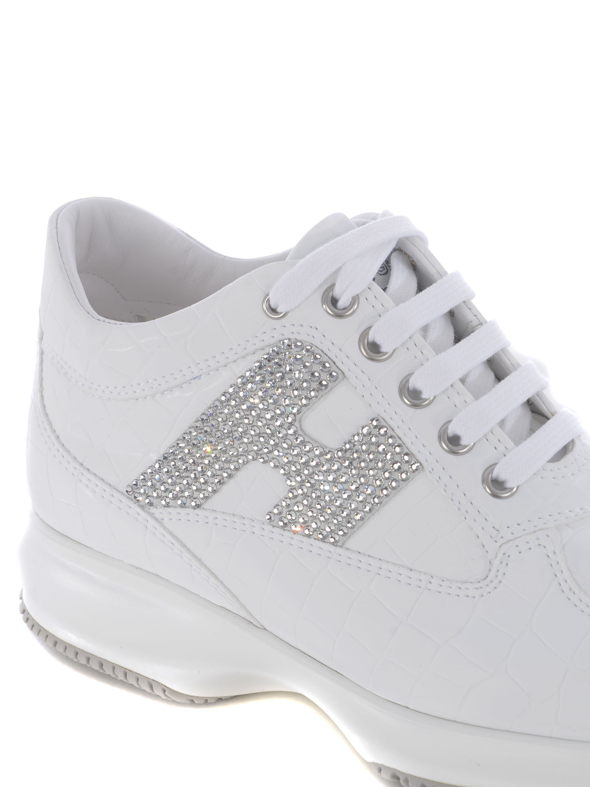 Sneakers donna Hogan Interactive in pelle