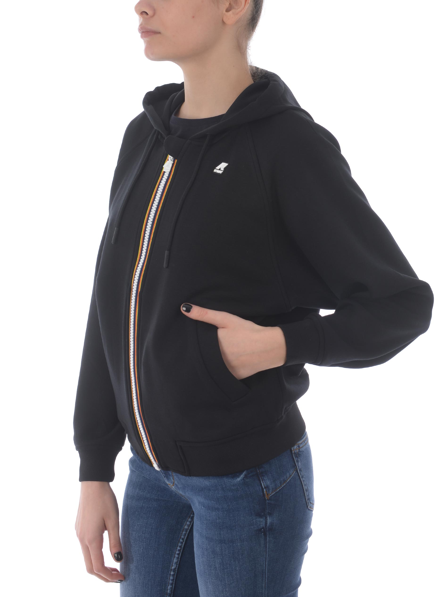 K-Way Lydie Light Spacer viscose blend sweatshirt K-WAY | 10000005 | K111Q4WUSY