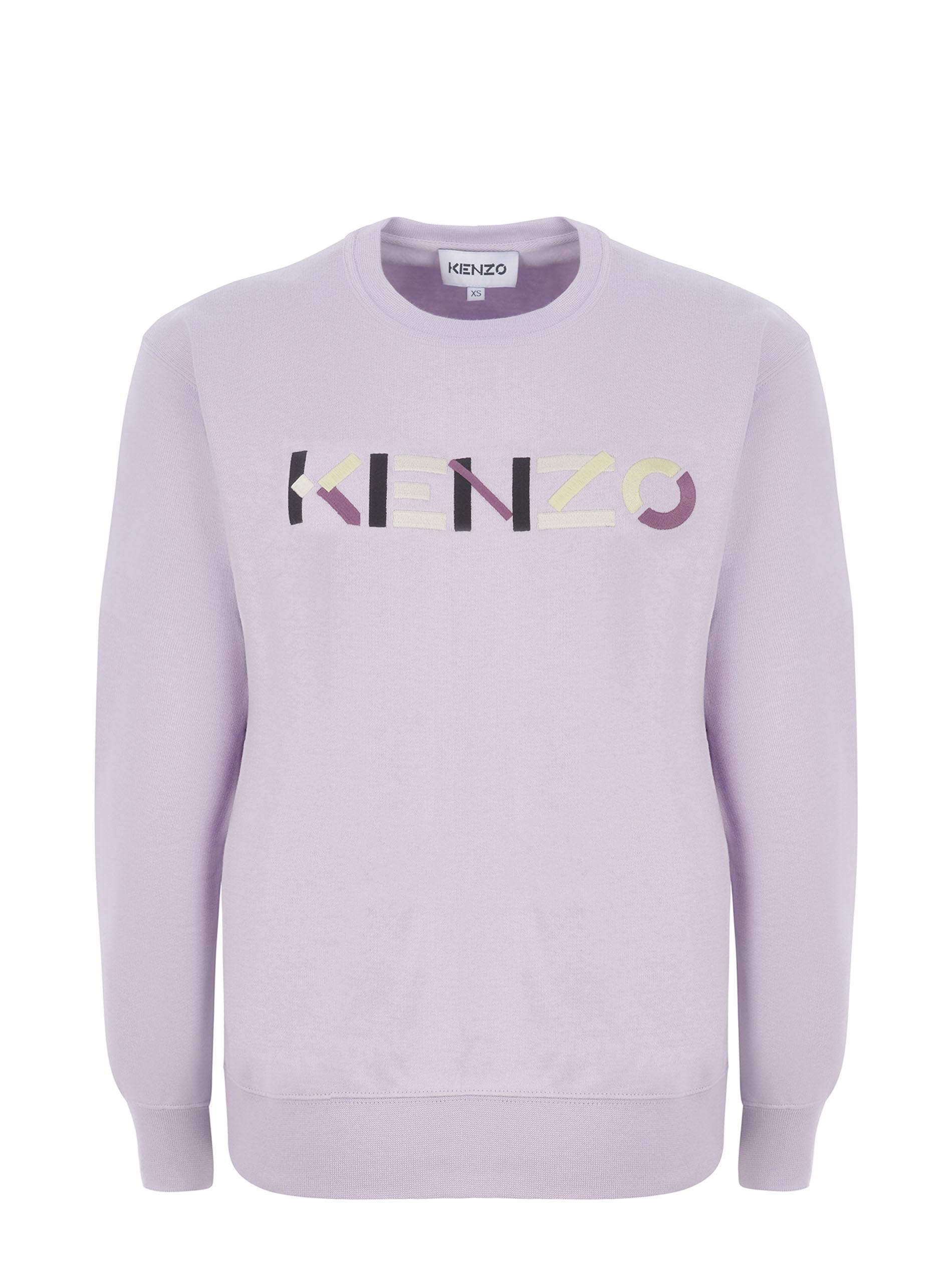 Kenzo cotton sweatshirt  KENZO   10000005   FB52SW8284MO66