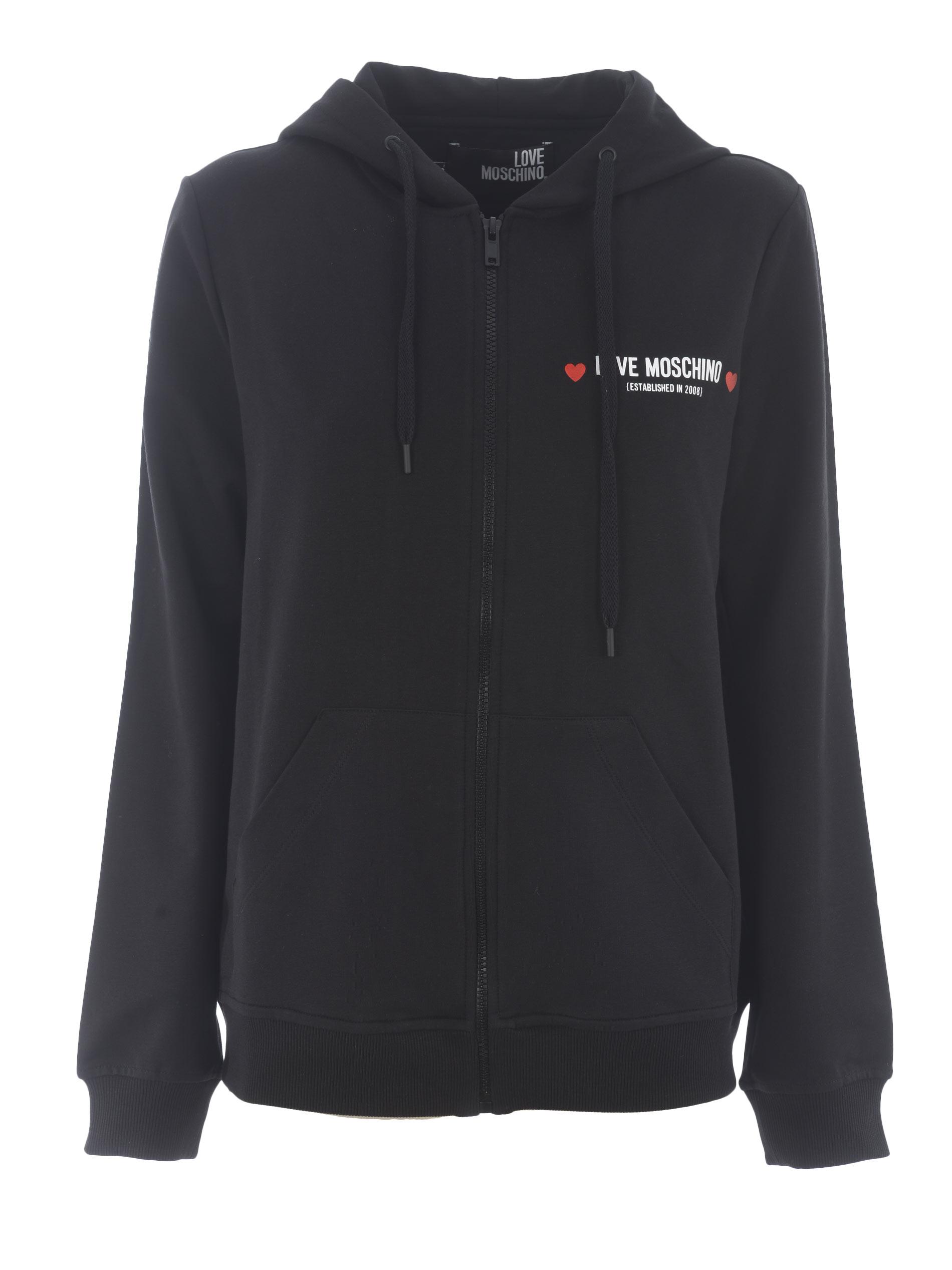 Love Moschino stretch cotton sweatshirt MOSCHINO LOVE | 10000005 | W333309E2180-C74