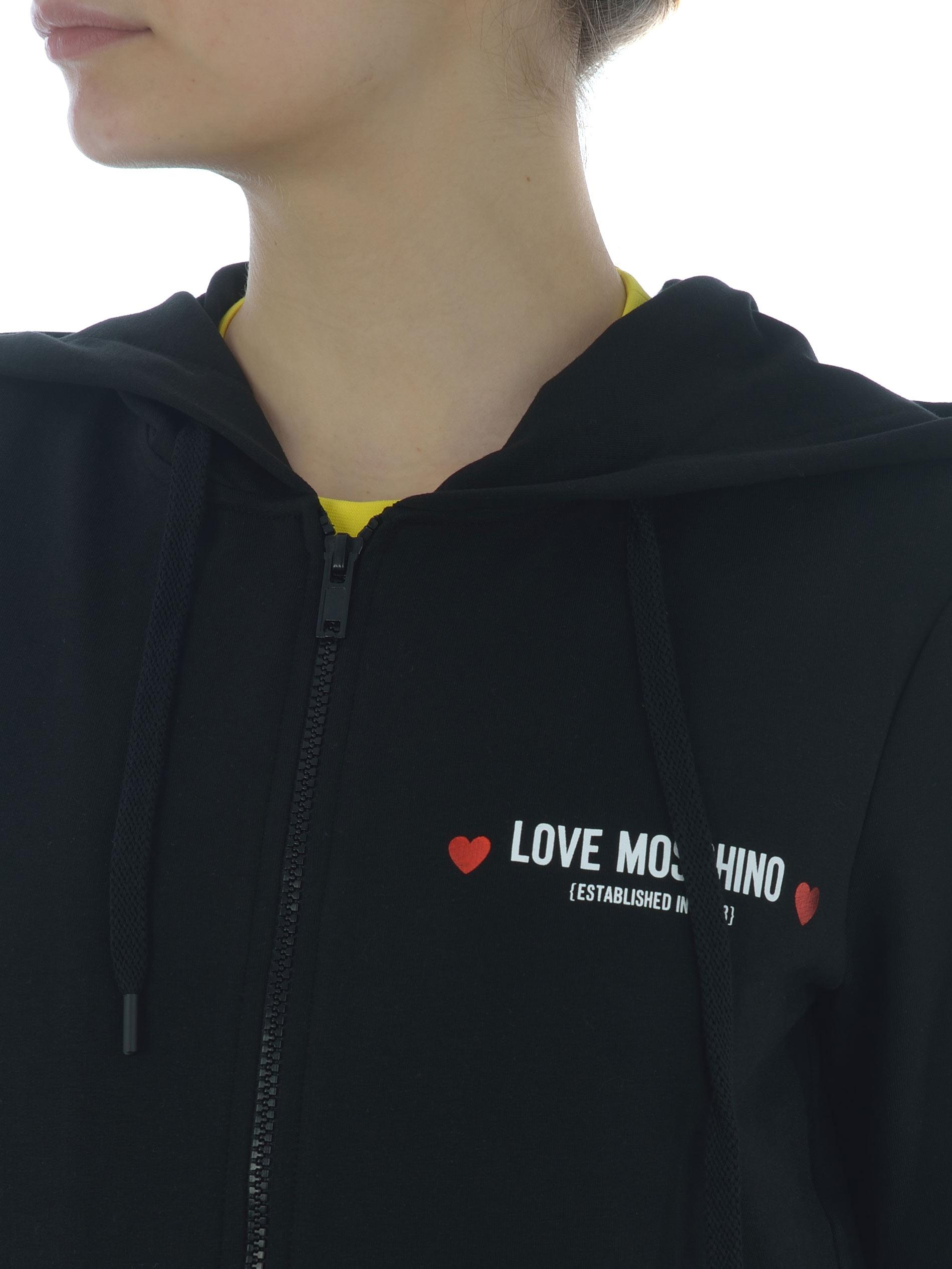 Felpa Love Moschino in cotone stretch MOSCHINO LOVE | 10000005 | W333309E2180-C74