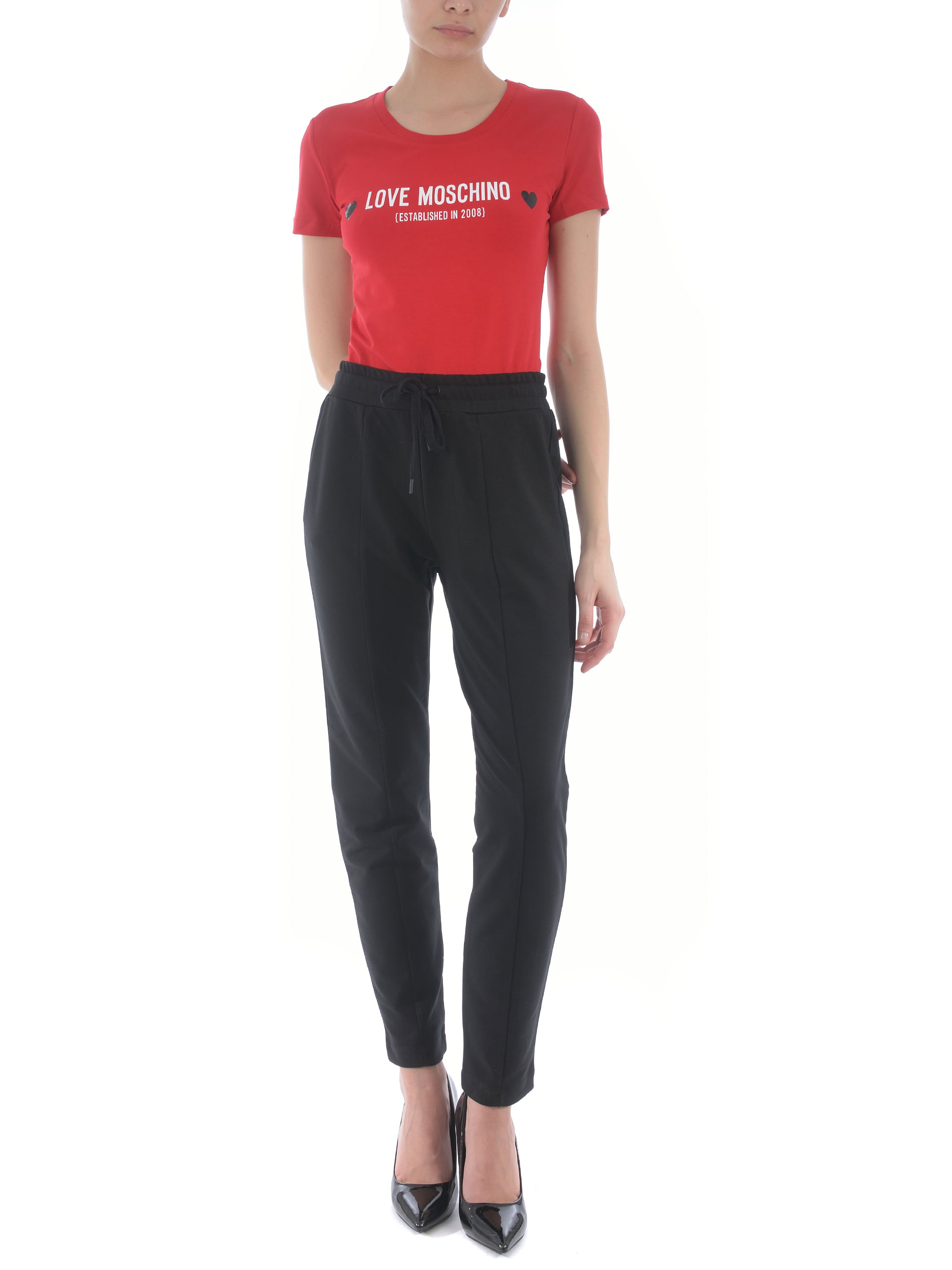 T-shirt Love Moschino in cotone stretch MOSCHINO LOVE | 8 | W4H1904E1951-P05