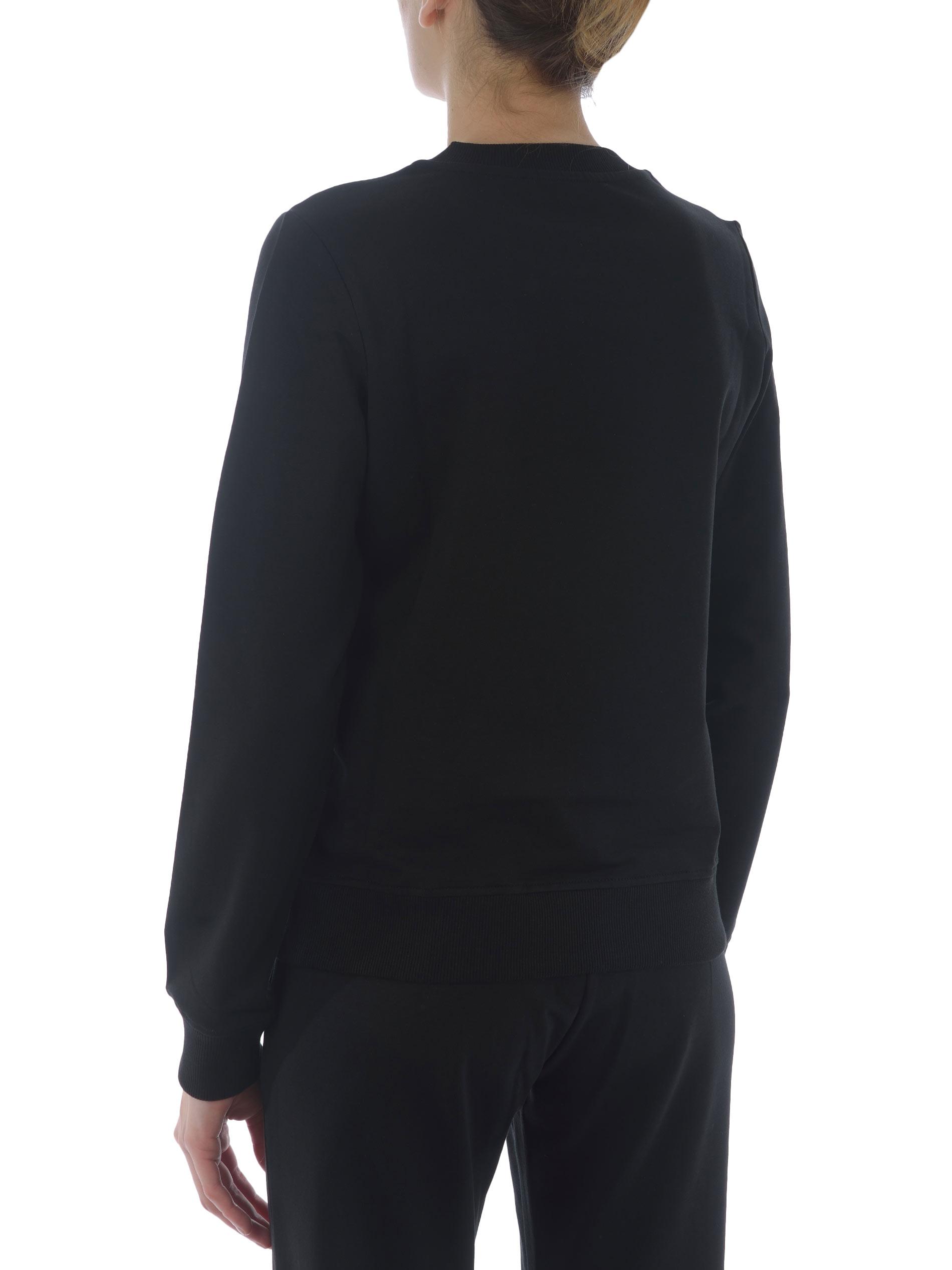 Felpa Love Moschino in cotone stretch MOSCHINO LOVE | 10000005 | W630220E2180-C74