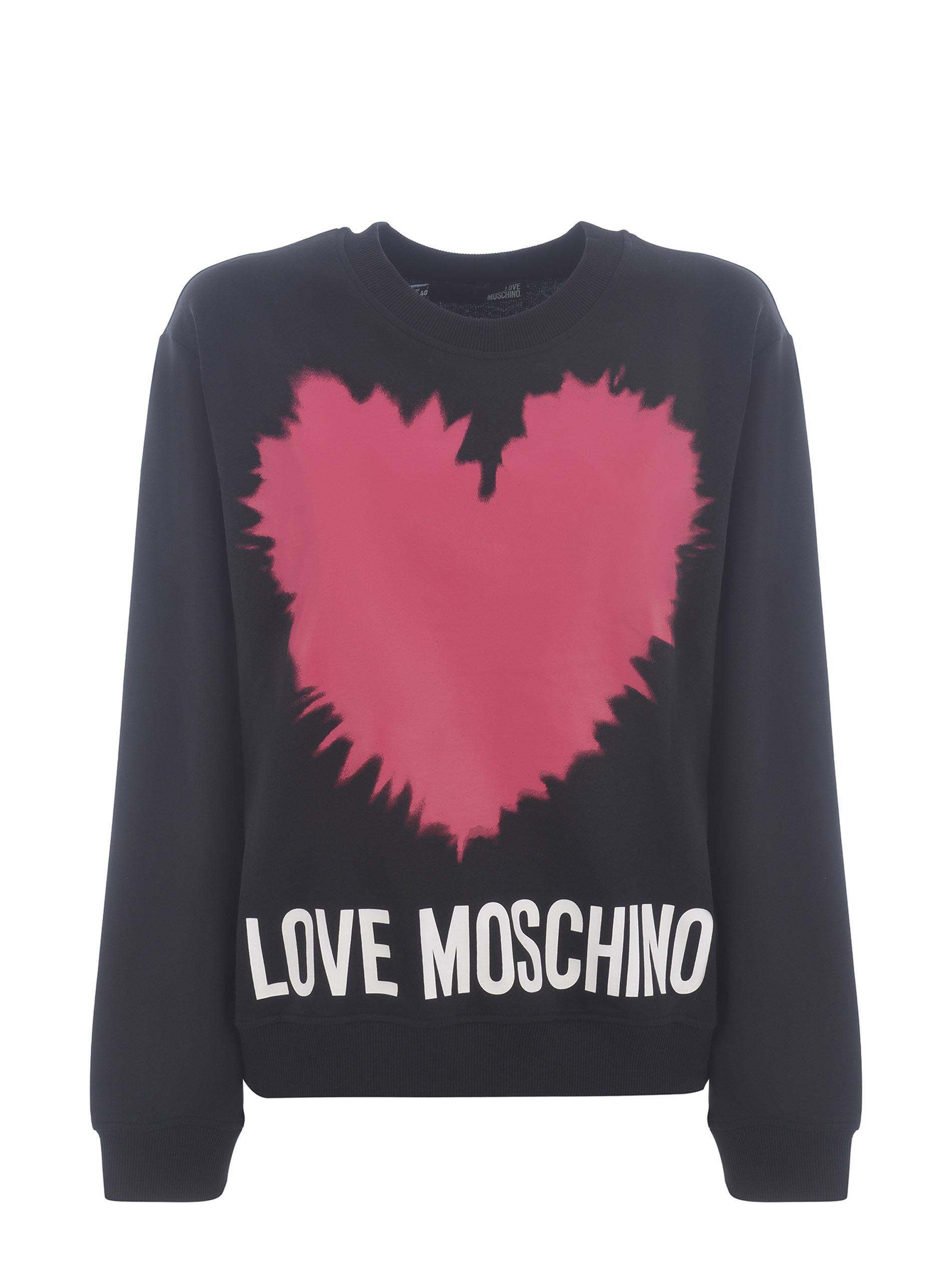 Moschino Love cotton sweatshirt MOSCHINO LOVE | 10000005 | W630643M4282-C74