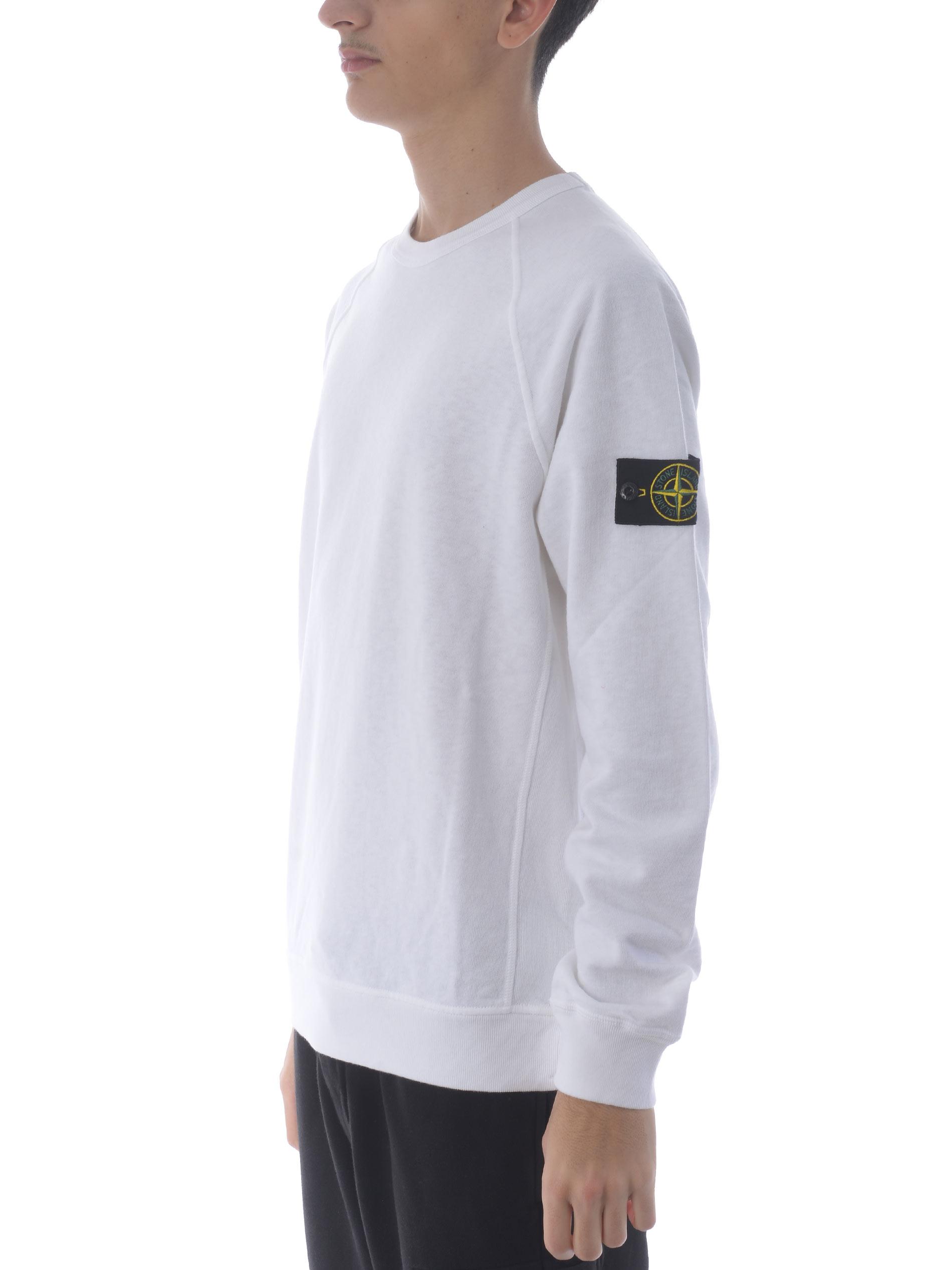 Stone Island cotton sweatshirt STONE ISLAND | 10000005 | 66060V0001