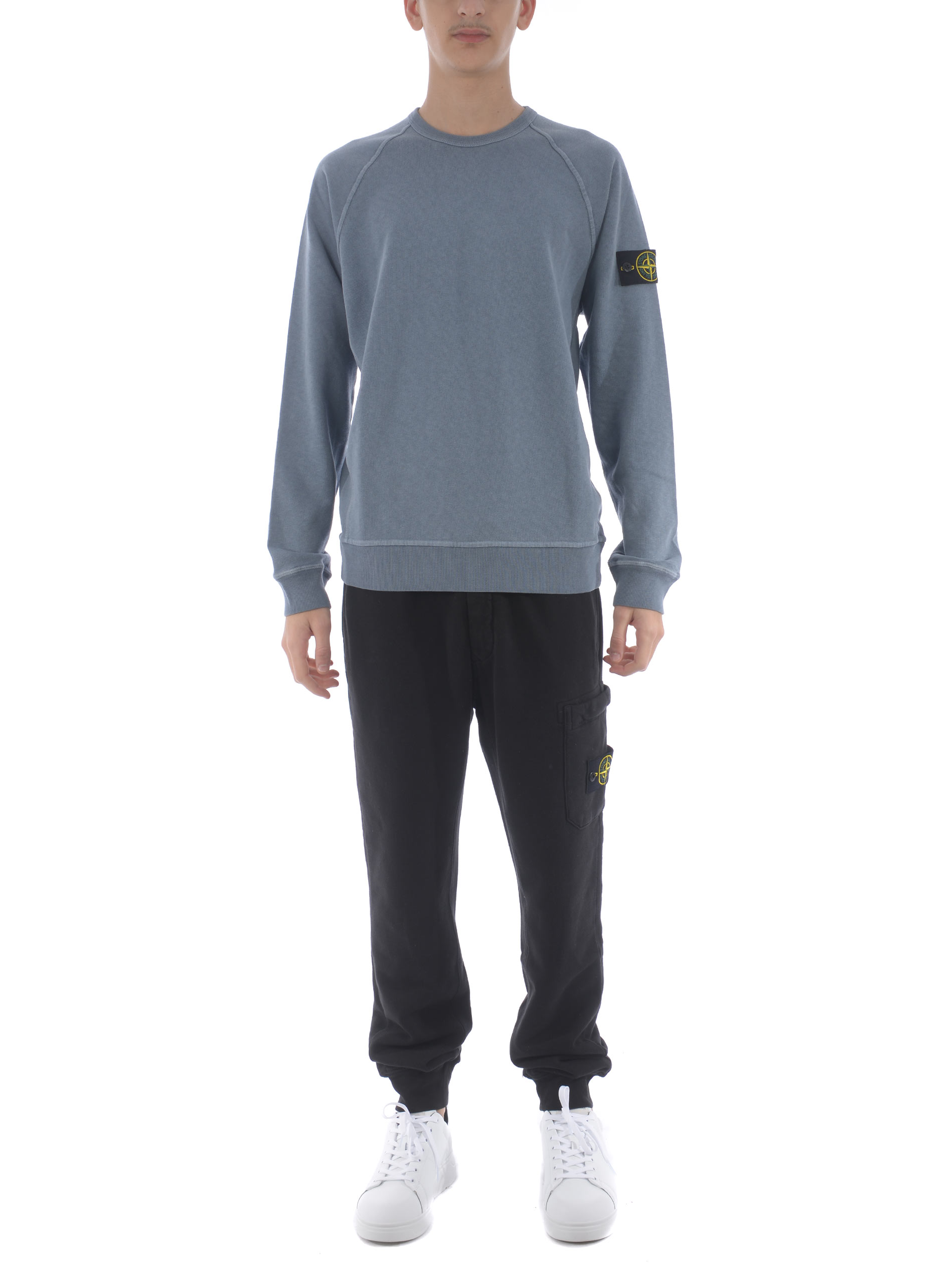Stone Island cotton sweatshirt  STONE ISLAND | 10000005 | 66060V0146