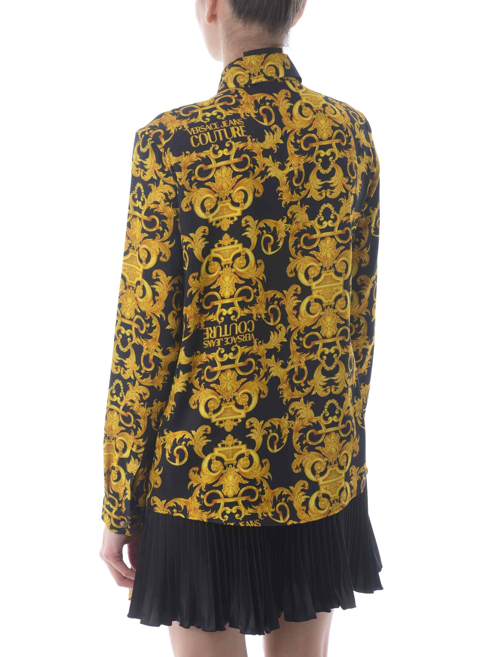 Camicia Versace Jeans Couture in twill di viscosa VERSACE JEANS | 6 | B0HWA628S0990-899