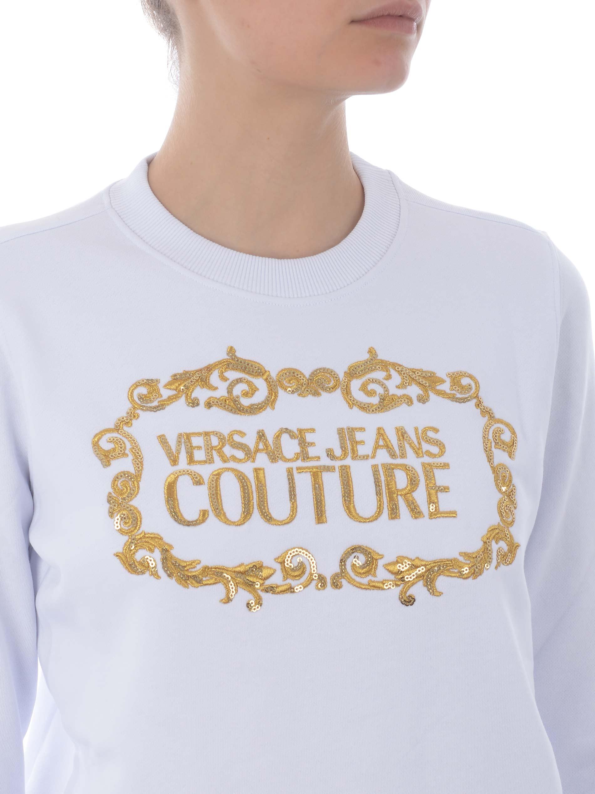 Versace Jeans Couture cotton sweatshirt VERSACE JEANS | 10000005 | B6HWA7TM30318-K41