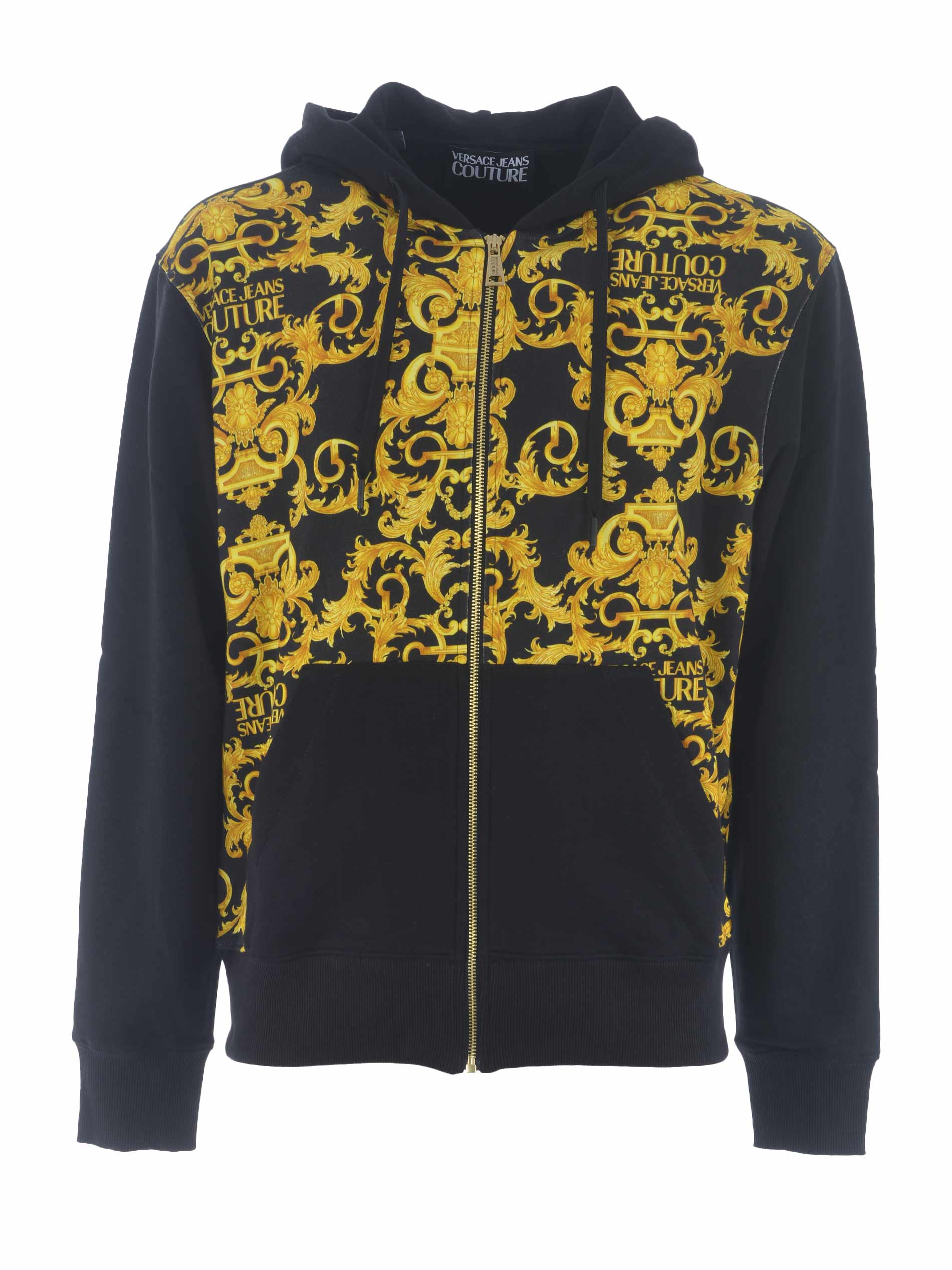 Versace Jeans Couture cotton sweatshirt VERSACE JEANS | 10000005 | B7GWA7F0S0156-899