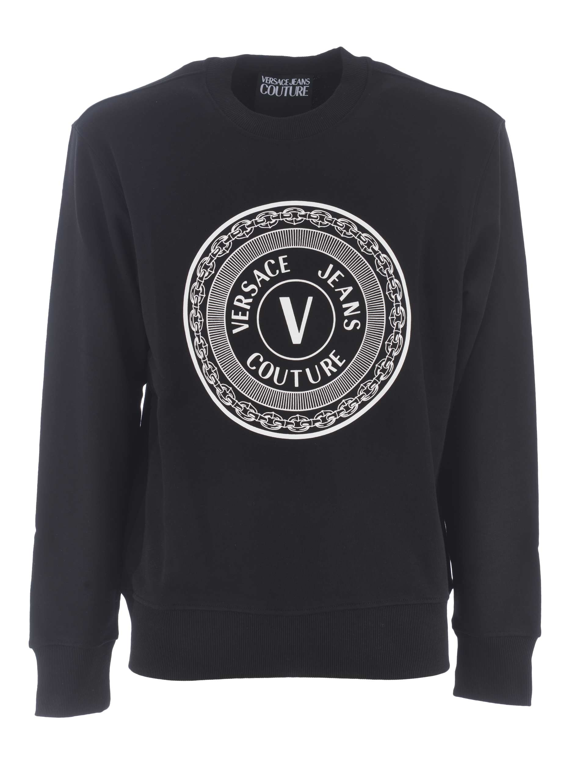 Felpa di Versace Jeans Couture in cotone VERSACE JEANS | 10000005 | B7GWA7TT30318-899