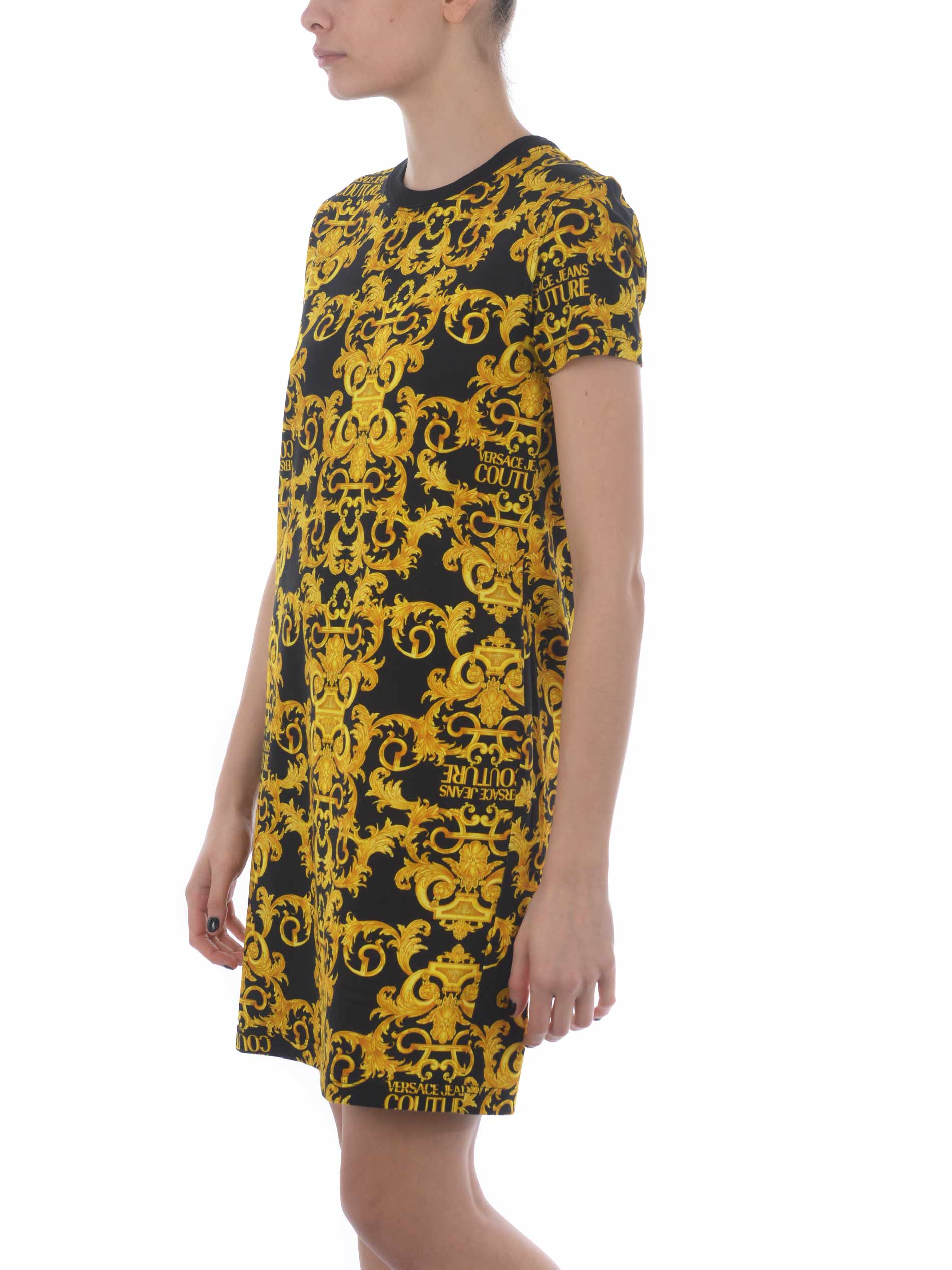 Abito Versace Jeans Couture in cotone VERSACE JEANS   11   D2HWA401S0155-899