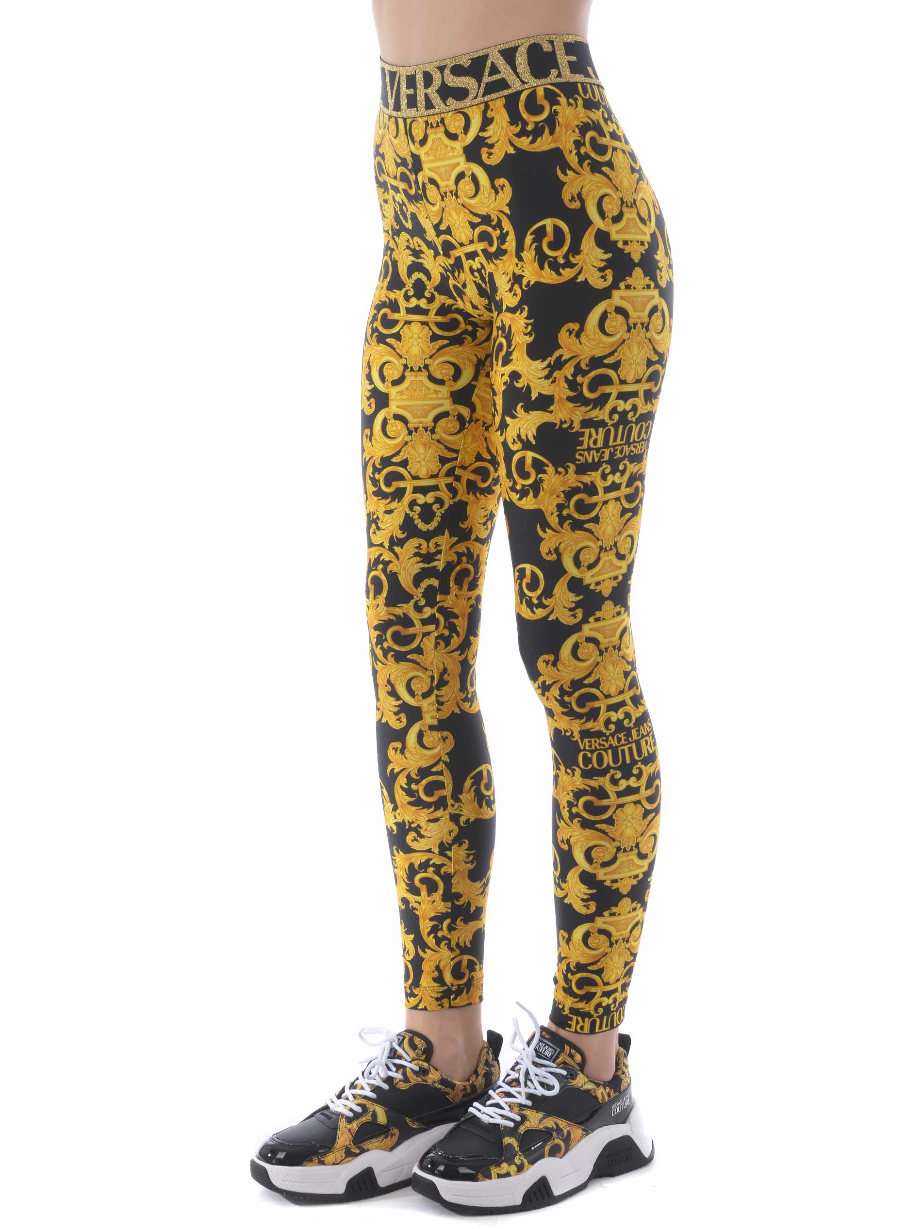 Versace Jeans Couture leggings in lycra VERSACE JEANS | -1927212704 | D5HWA101S0125-899