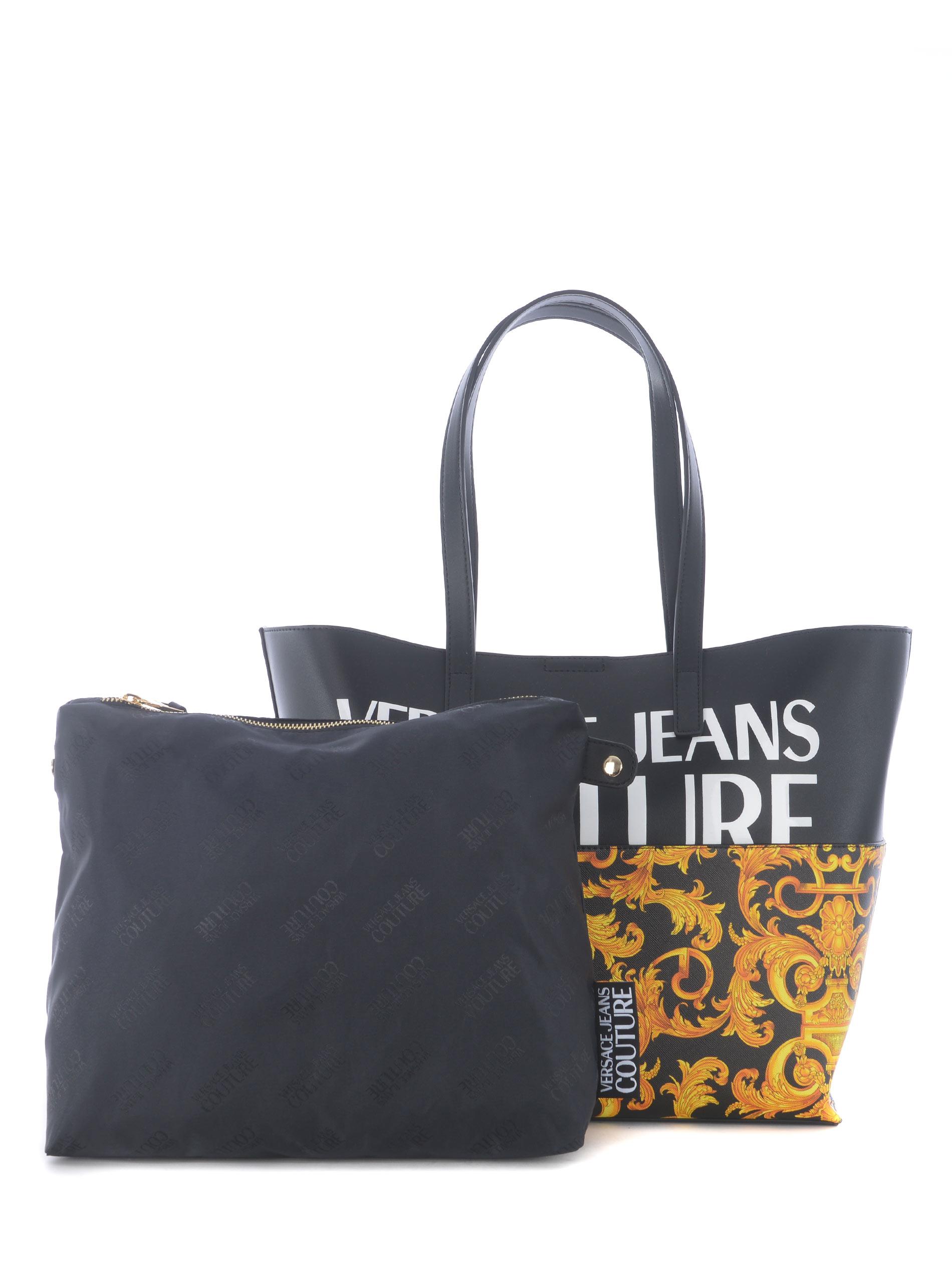 Shopper Versace Jeans Couture in ecopelle VERSACE JEANS | 31 | E1VWABG171727-M27