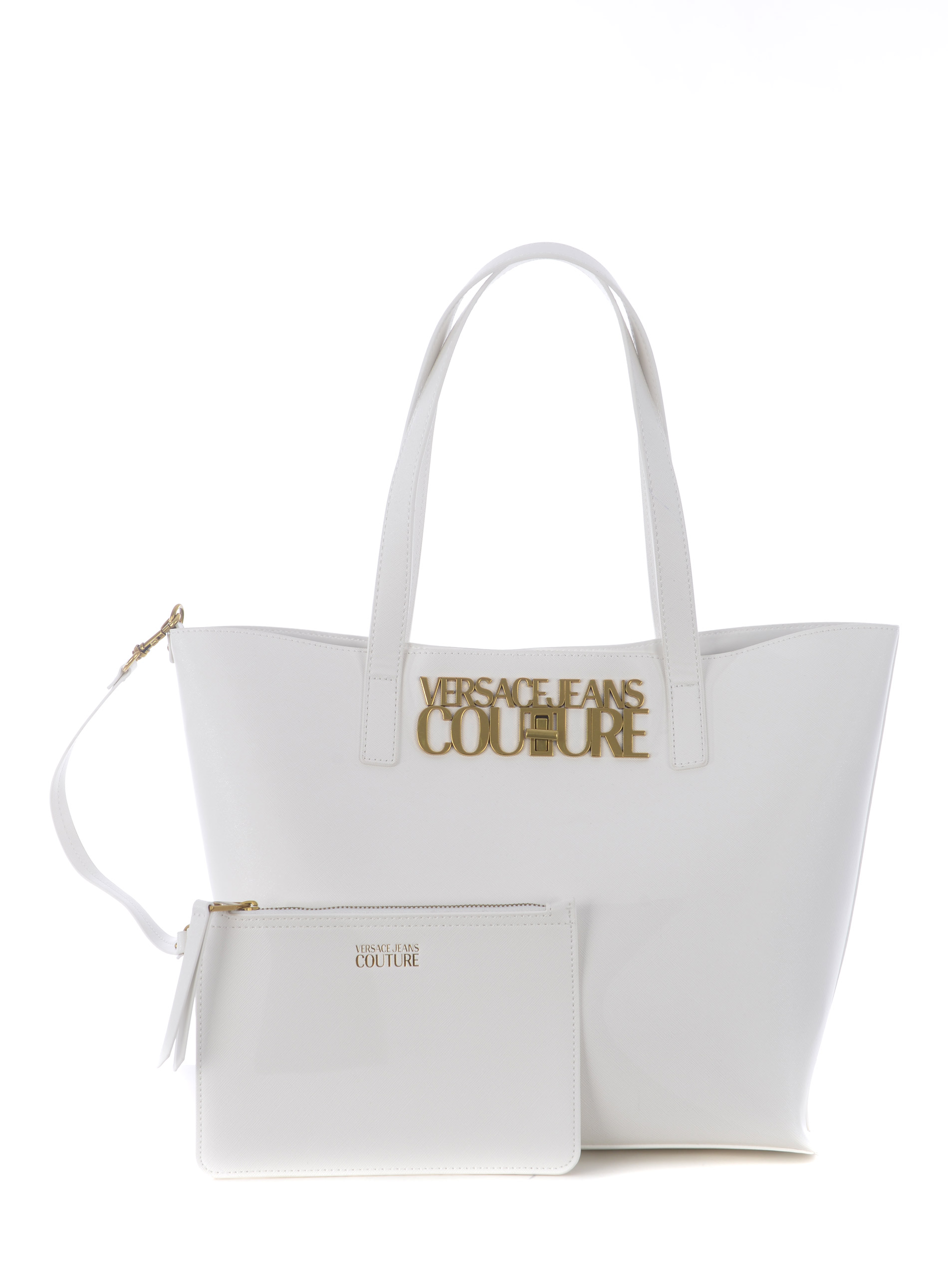 Shopper Versace Jeans Couture in ecopelle saffiano VERSACE JEANS   31   E1VWABL871879-003