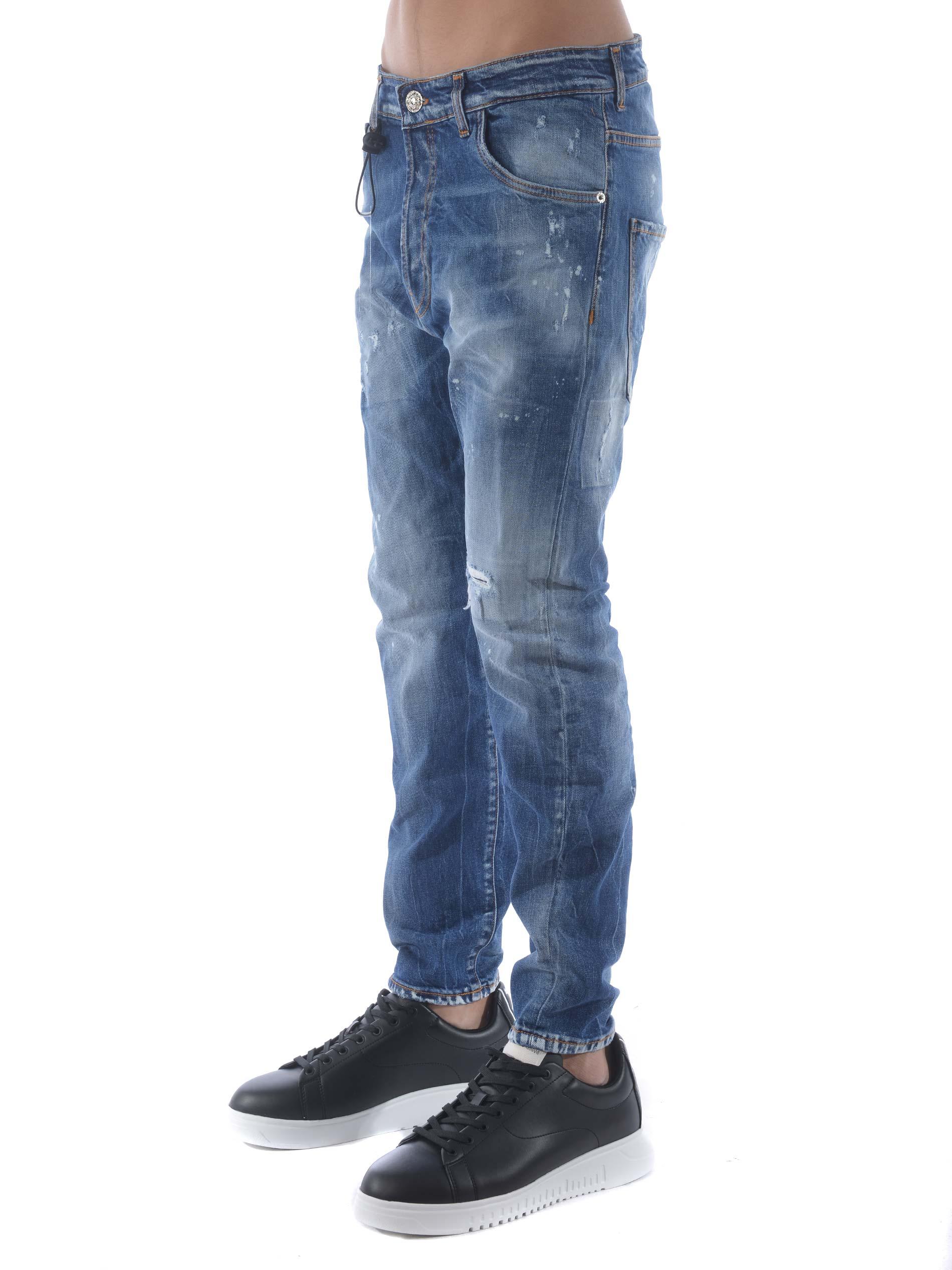 Jeans Yes London in denim stretch YES LONDON | 24 | XJ2939TWIST