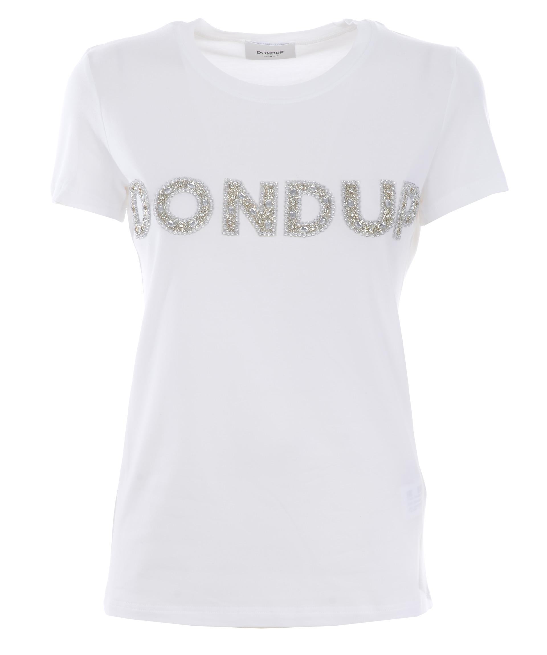 T-shirt Dondup logo