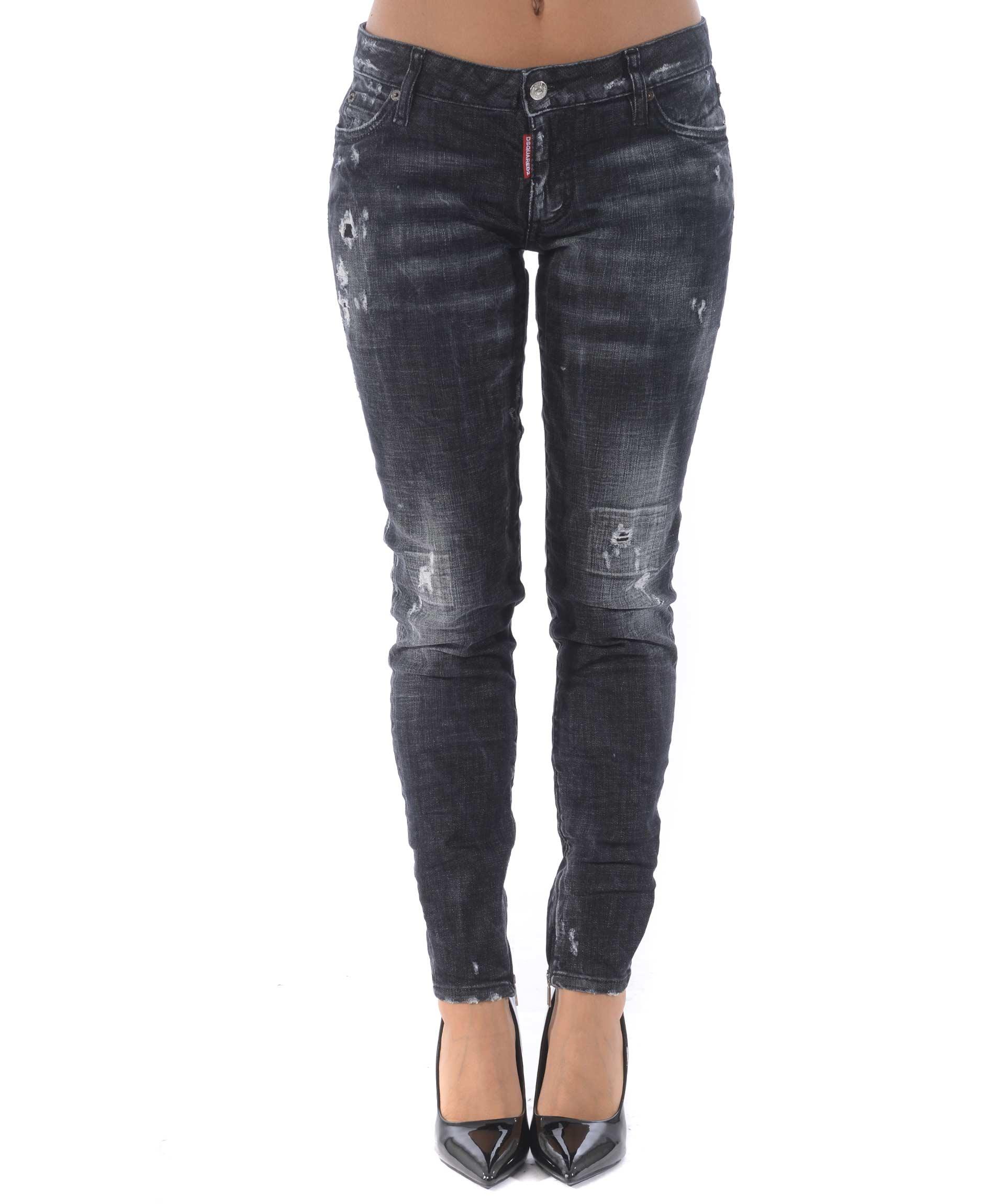 Jeans Dsquared2 medium waist skinny