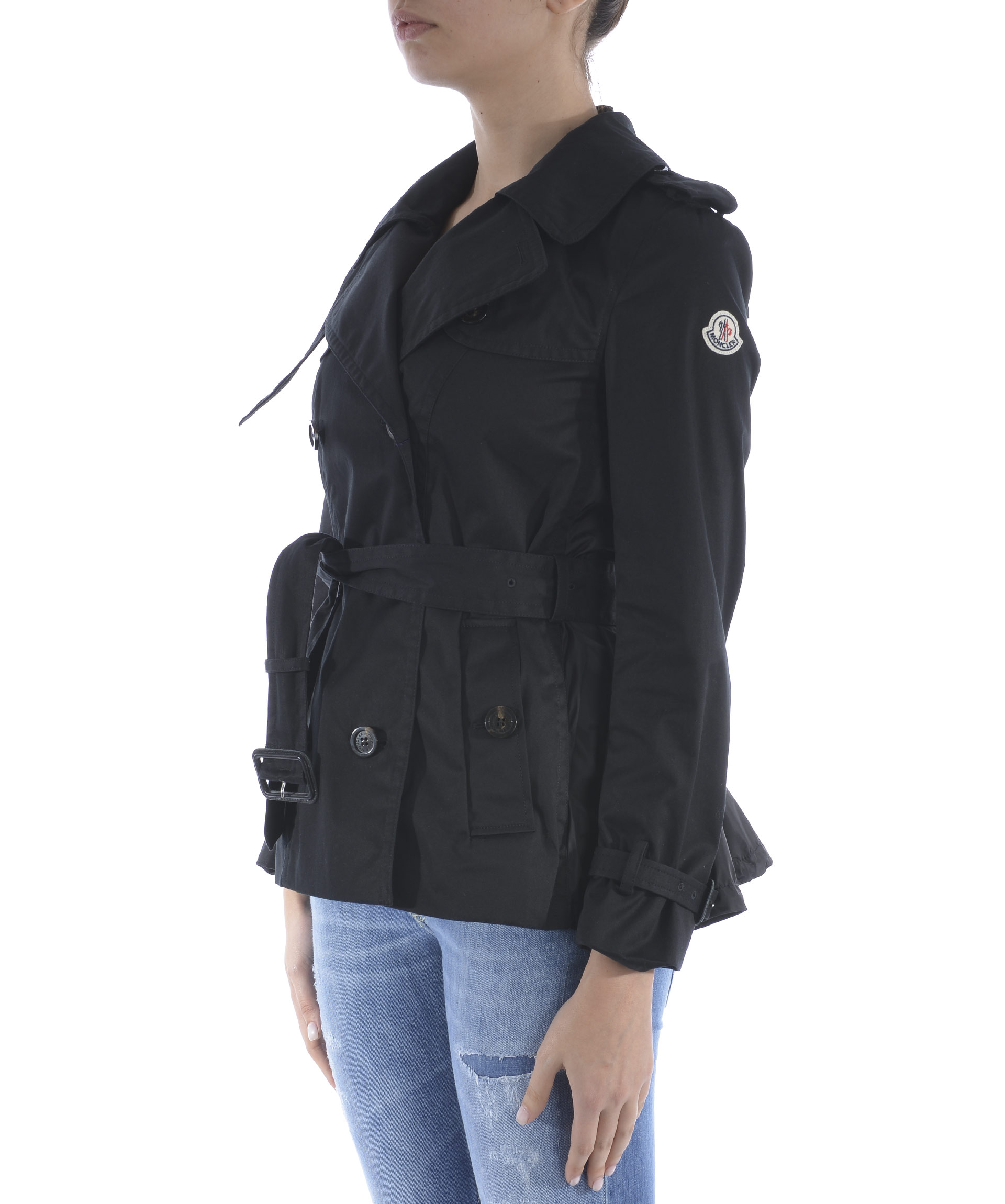 Trench corto Moncler Moustelle MONCLER | -1295562811 | 46097-8557063-999