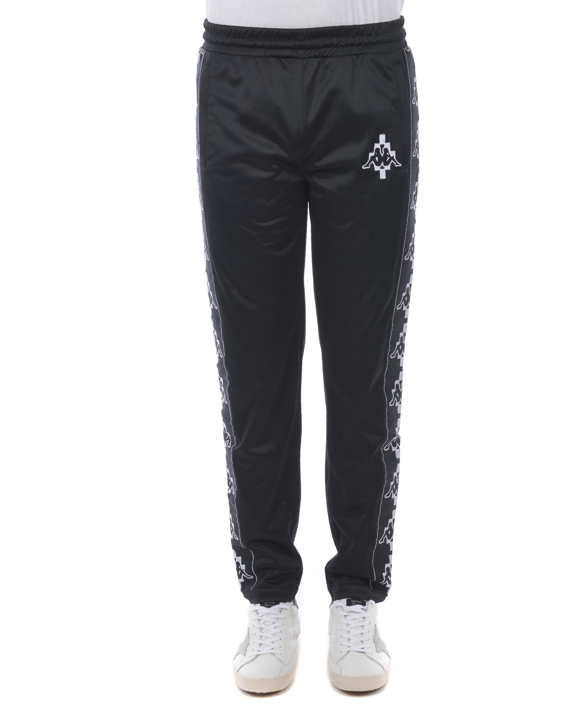 pantaloni jogging marcelo burlon x kappa kappa tape marcelo burlon tufanomoda. Black Bedroom Furniture Sets. Home Design Ideas