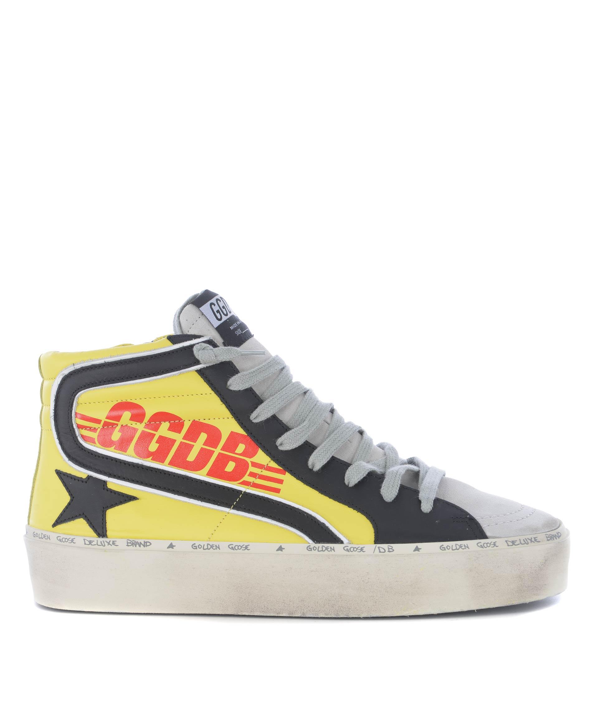 7486db789f85 Sneakers hi-top uomo Golden Goose