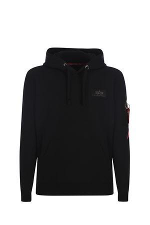 Felpa hoodie Alpha Insustries ALPHA INDUSTRIES | 10000005 | 17831803