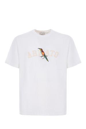 T-shirt Axel Arigato Bee bird collage AXEL ARIGATO | 8 | 15785WHITE