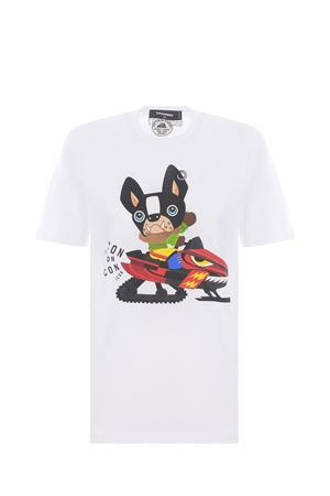 T-shirt Dsquared2 in cotone DSQUARED | 8 | S80GC0031S23009-100