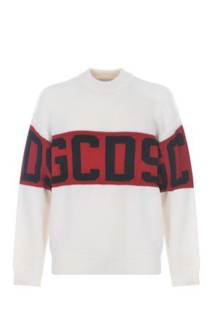 Maglione GCDS logo sweaterin misto lana tricot GCDS | 7 | CC94M02115001
